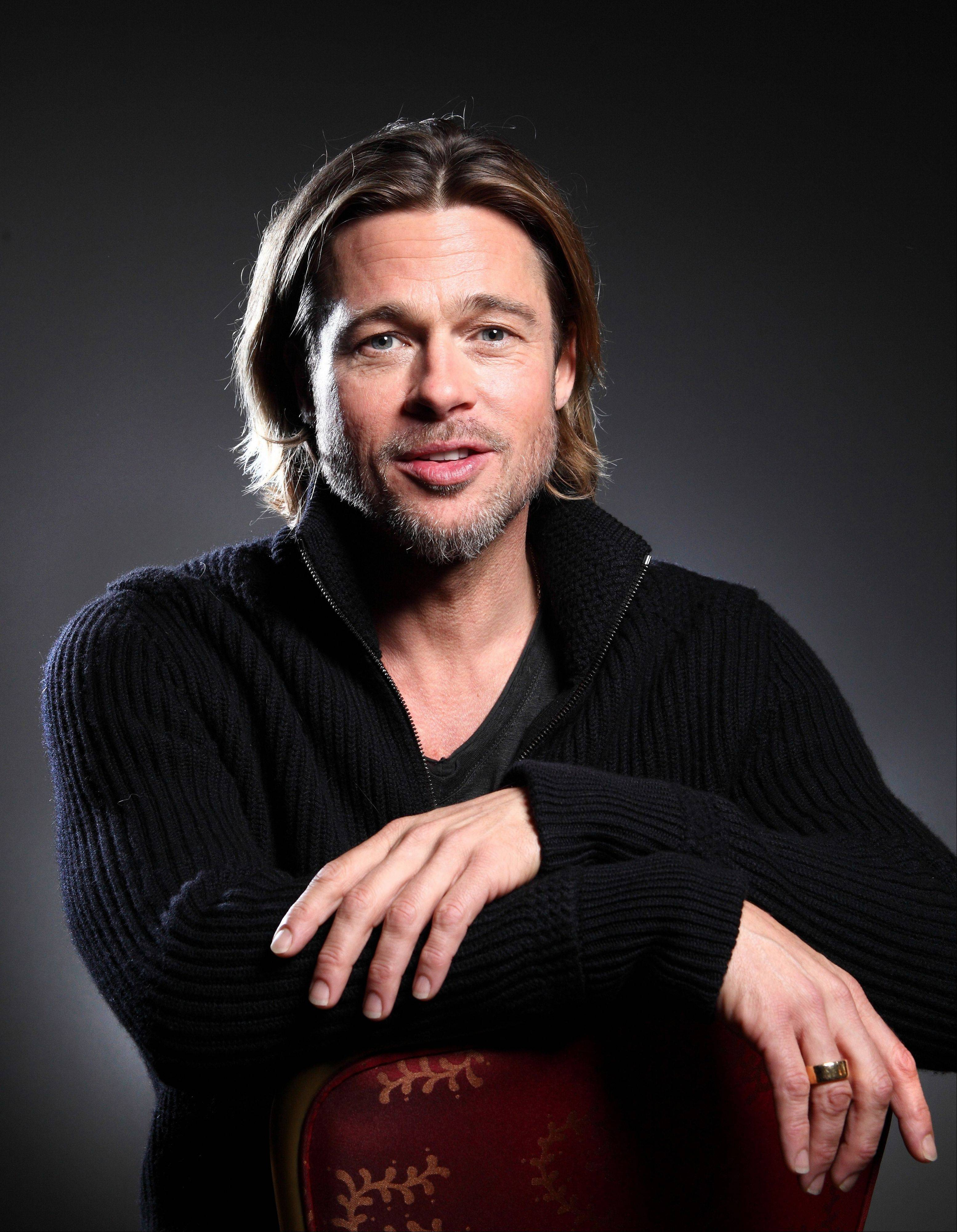 "Actor Brad Pitt heavily promoted his film ""Moneyball"" during the recent 36th Toronto International Film Festival in Toronto."