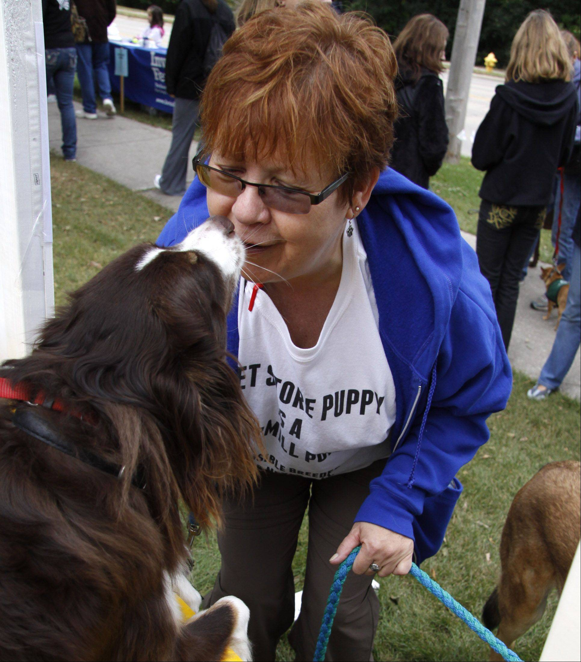 Dog lovers can come out for a walk with their pet Sunday, Sept. 25 from 10 a.m. to 2 p.m. at the West Suburban Humane Society's 18th annual Barkapalooza fundraiser in Lisle Community Park, 1825 Short St., Lisle.