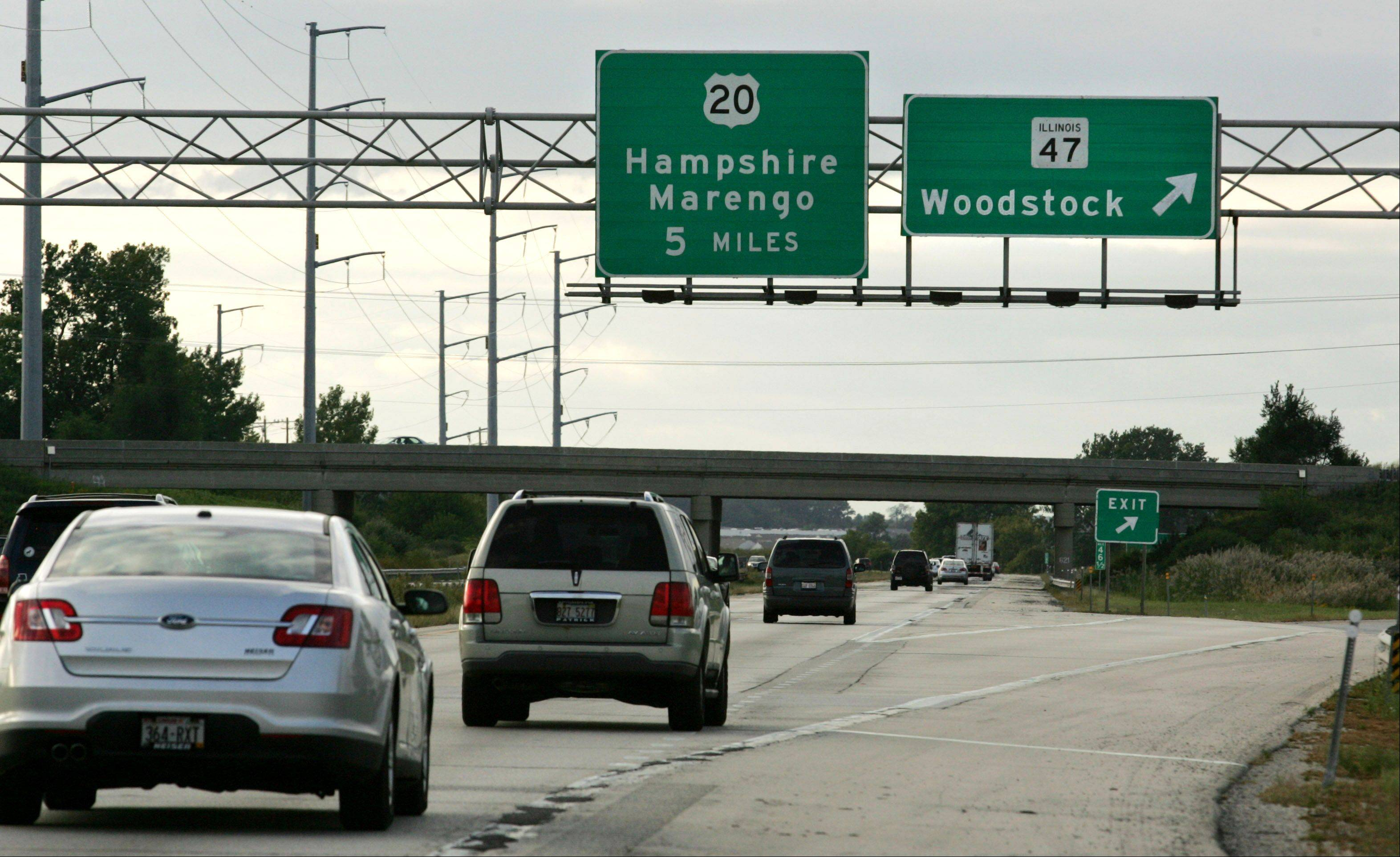 Construction to add a westbound ramp to the Jane Addams Tollway from Route 47 will begin in the spring.