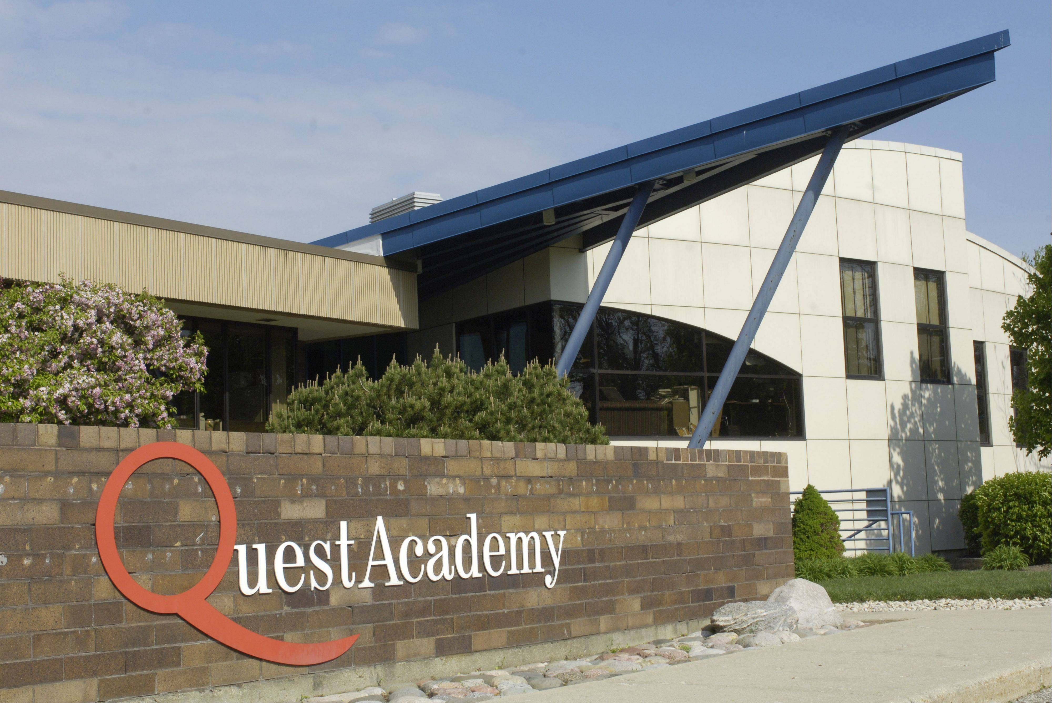 Quest Academy in Palatine is positioning itself for an expansion. The private school for gifted children is set to buy the adjacent shopping center and wants to build an athletic field on another nearby site.