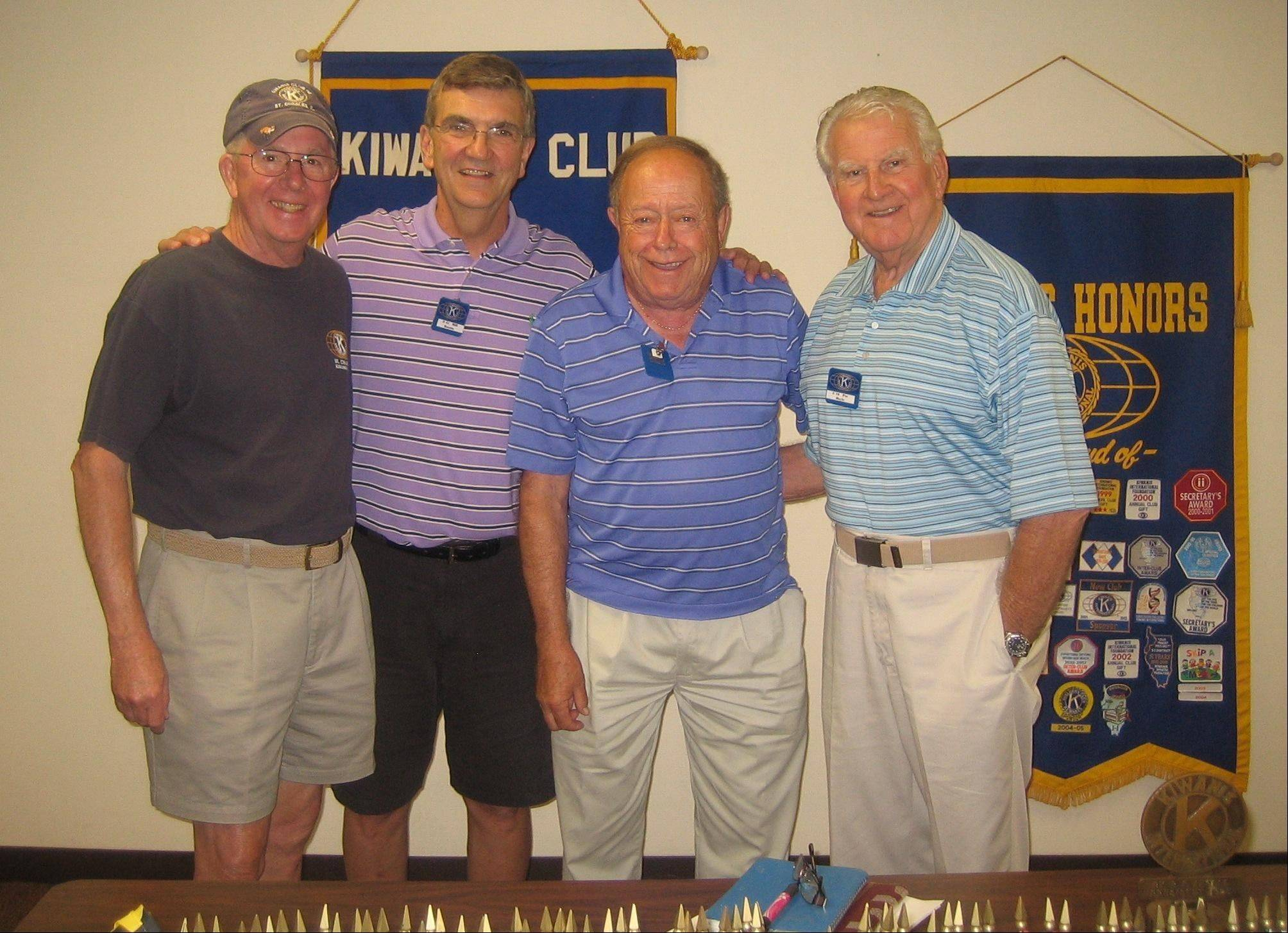 Meet the 2011 Peanut Committee, from left, Bill Cox, co-chair; Bill Knotts, 2011 Peanut chairman; Stew Liechte; and Pat Boyle. These Kiwanians are working to coordinate the club�s peanut fundraiser to raise money for local children�s agencies.