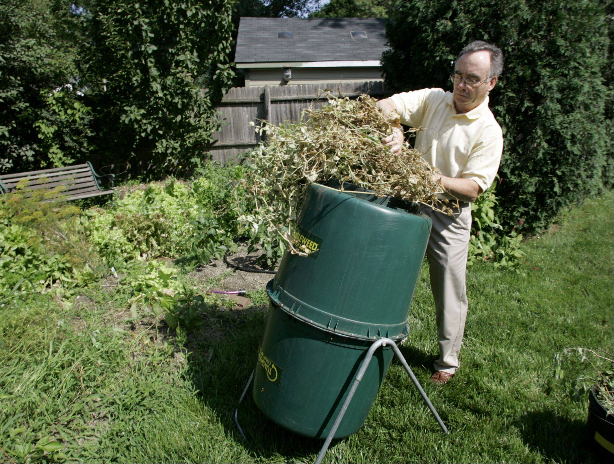 Visitors to the Green Fair on Saturday at Cantigny can learn how to get started composting in their backyard. The fair, sponsored in conjunction with SCARCE, offers advice on being more environmentally friendly at home.