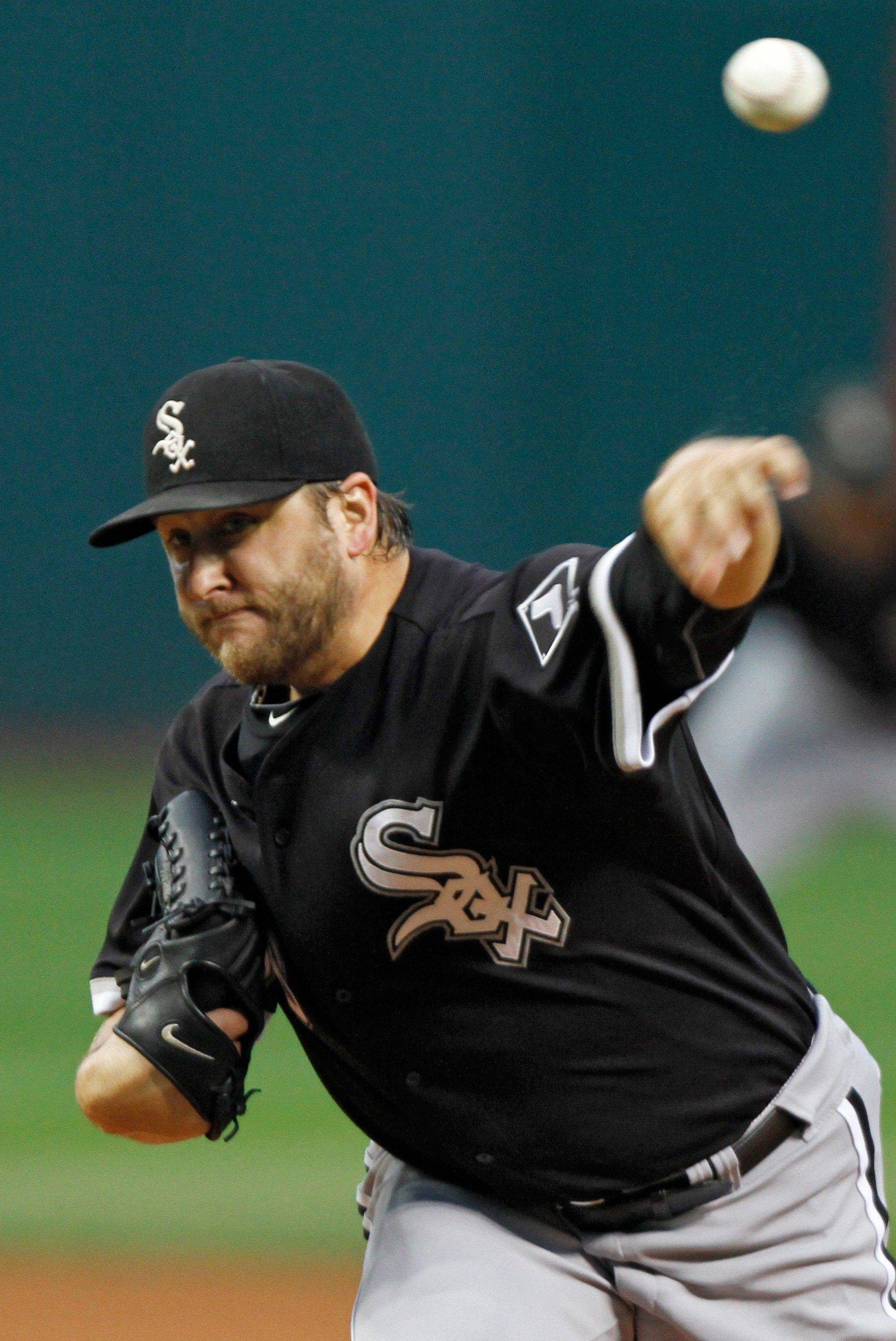 White Sox starter Mark Buehrle improved to 12-9 with his win over the Indians on Wednesday night.
