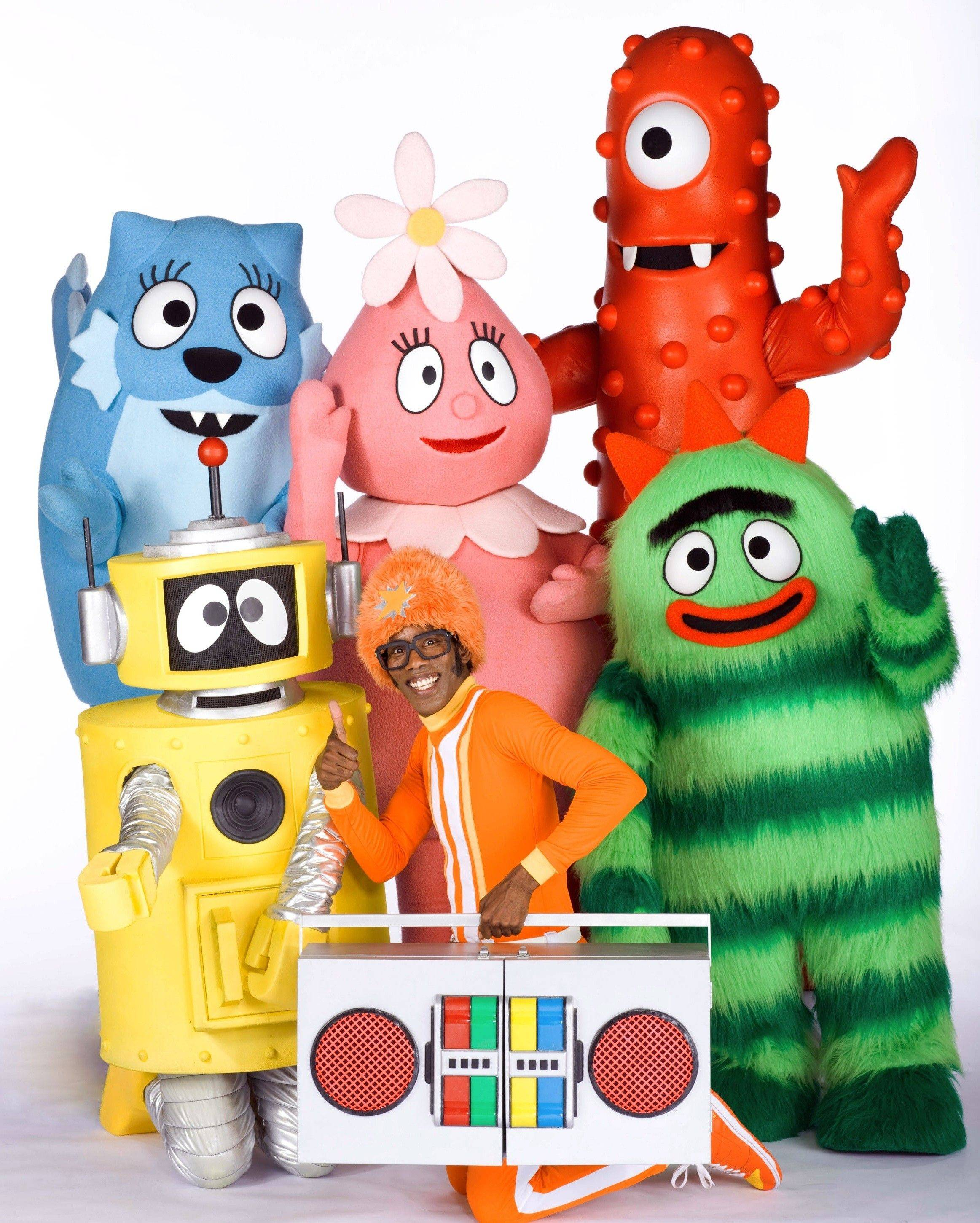 """Yo Gabba Gabba! Live! It's Time to Dance"" plays four shows at the Rosemont Theatre on Saturday and Sunday, Sept. 24-25."