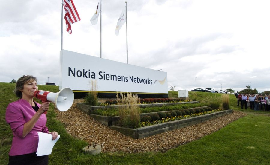 Goodbye Moto, hello Nokia Siemens in Arlington Heights