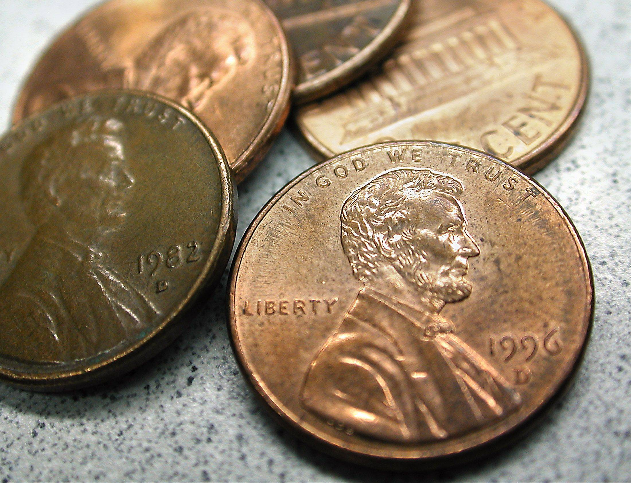 Those pennies you've got in piles all over your house can be put to good use at an upcoming penny social in West Dundee.