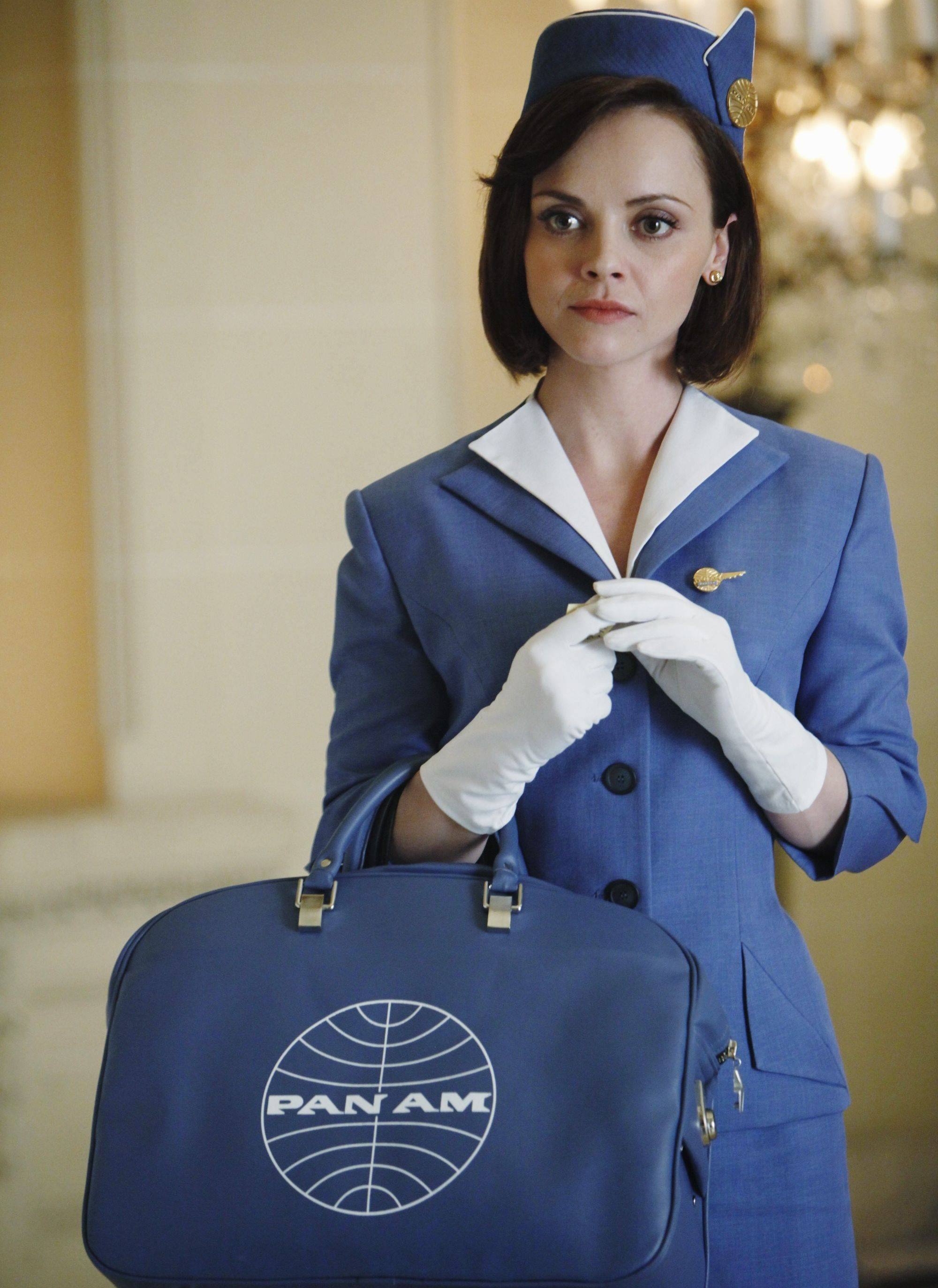 "Maggie (Christina Ricci) is off to see the world in ABC's retro drama ""Pan Am."""