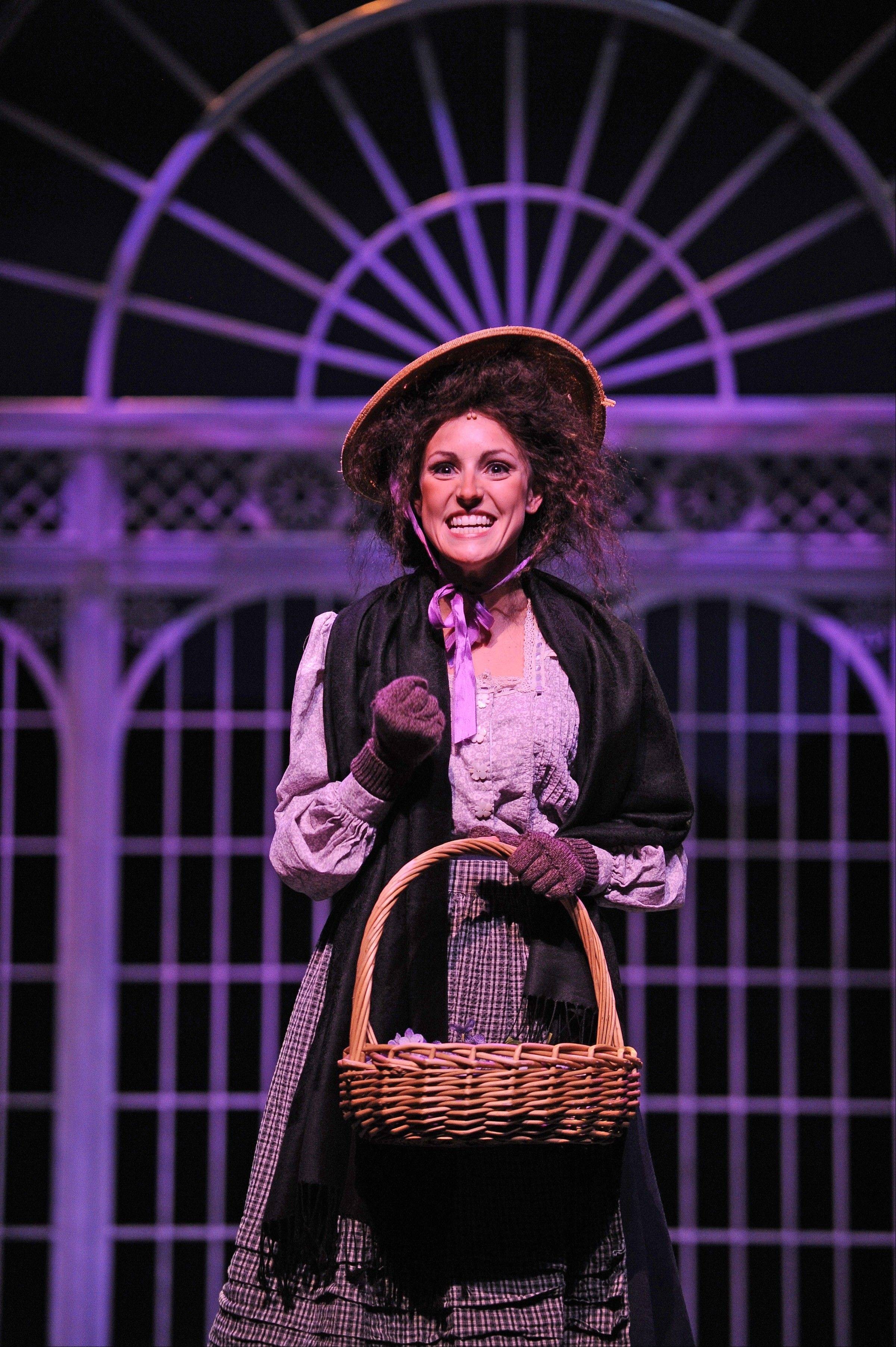 "Andrea Prestinario stars in Paramount Theatre's ""My Fair Lady,"" which runs through Sunday, Oct. 2."