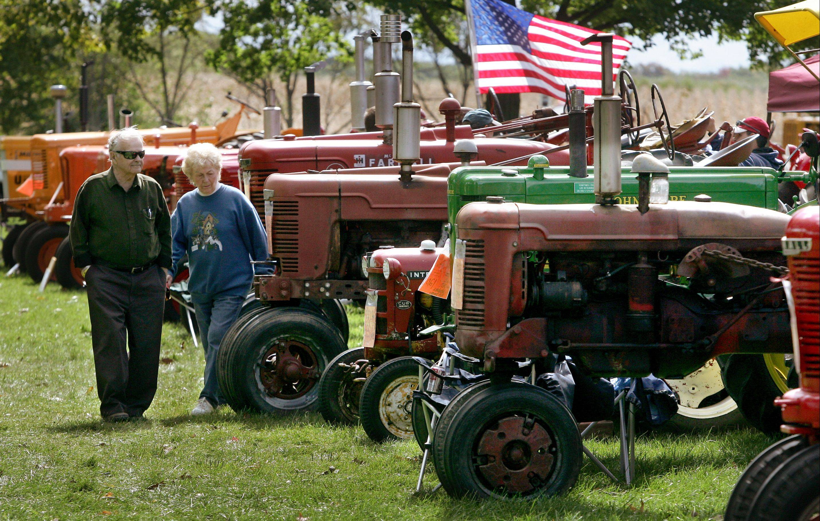 Old tractors and hundreds of other pieces of farm equipment will be on display during the Farm Heritage Festival at the Lakewood Forest Preserve near Wauconda Saturday and Sunday, Sept. 24-25.