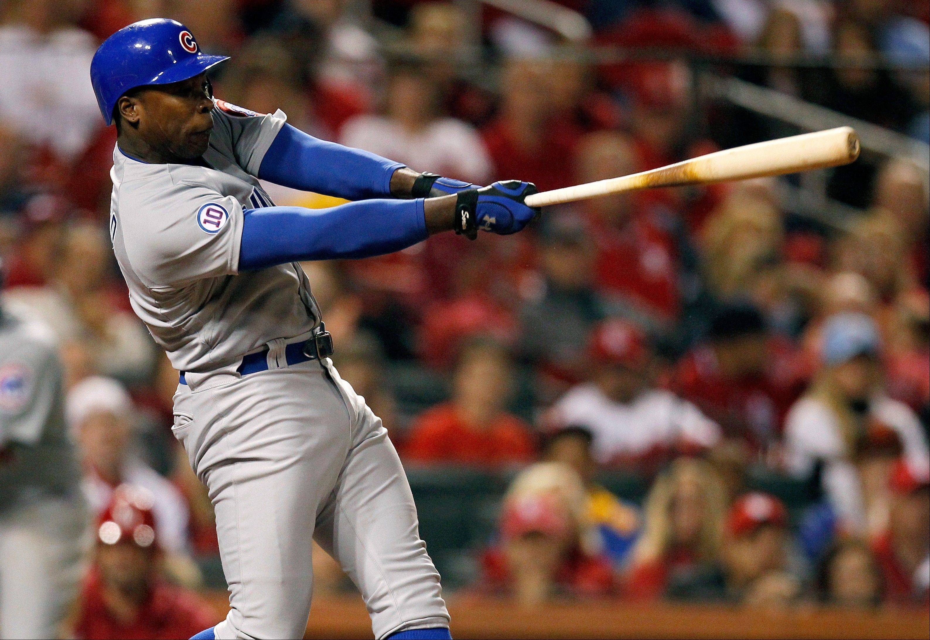 Alfonso Soriano�s 3-run shot was the difference as the Cubs dealt another blow to the fading St. Louis Cardinals� playoff hopes. The Cubs topped the Cards 5-1 in St. Louis Friday night.