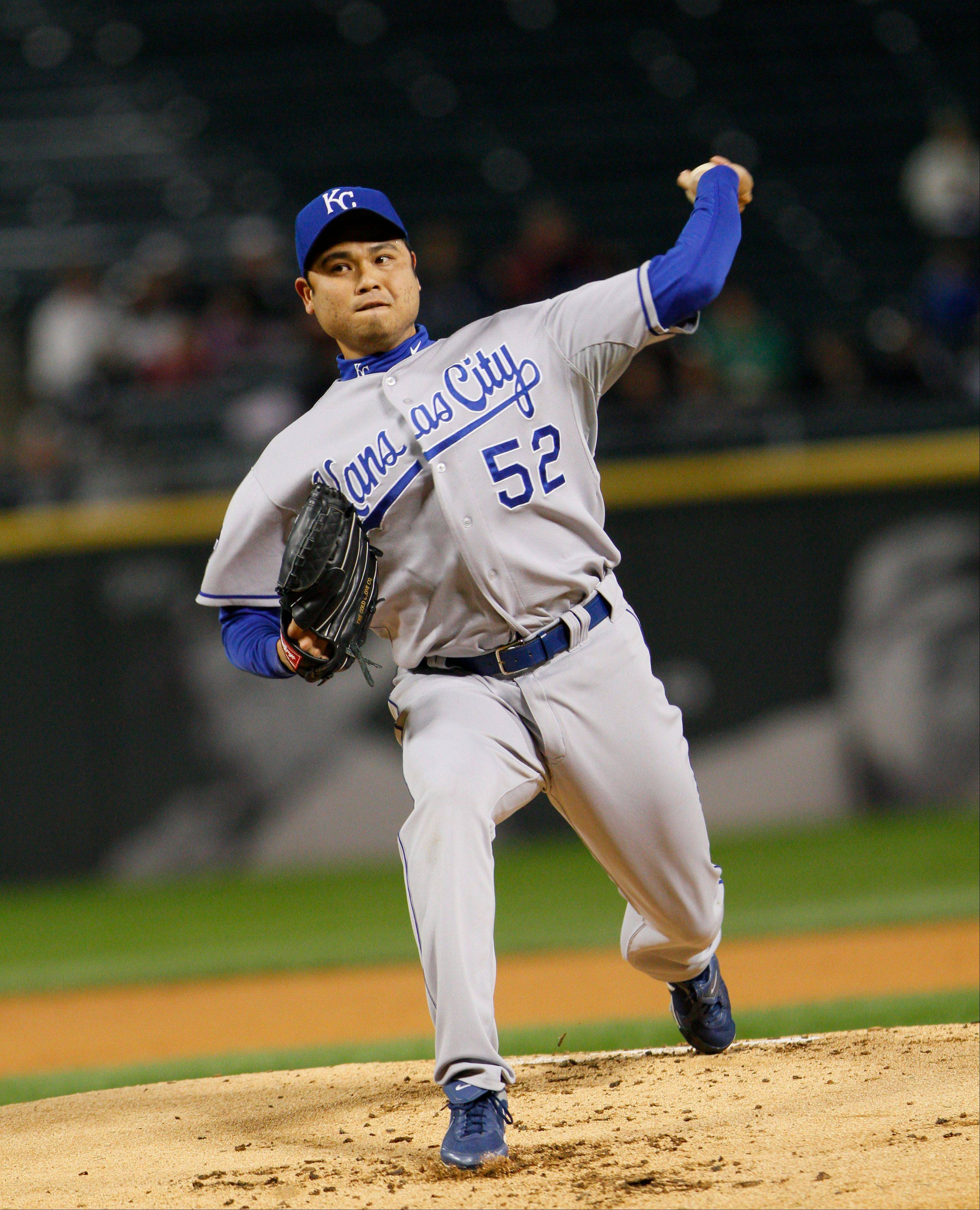 Kansas City Royals starting pitcher Bruce Chen shut down the White Sox Friday as the Royals drubbed the Sox 11-1.