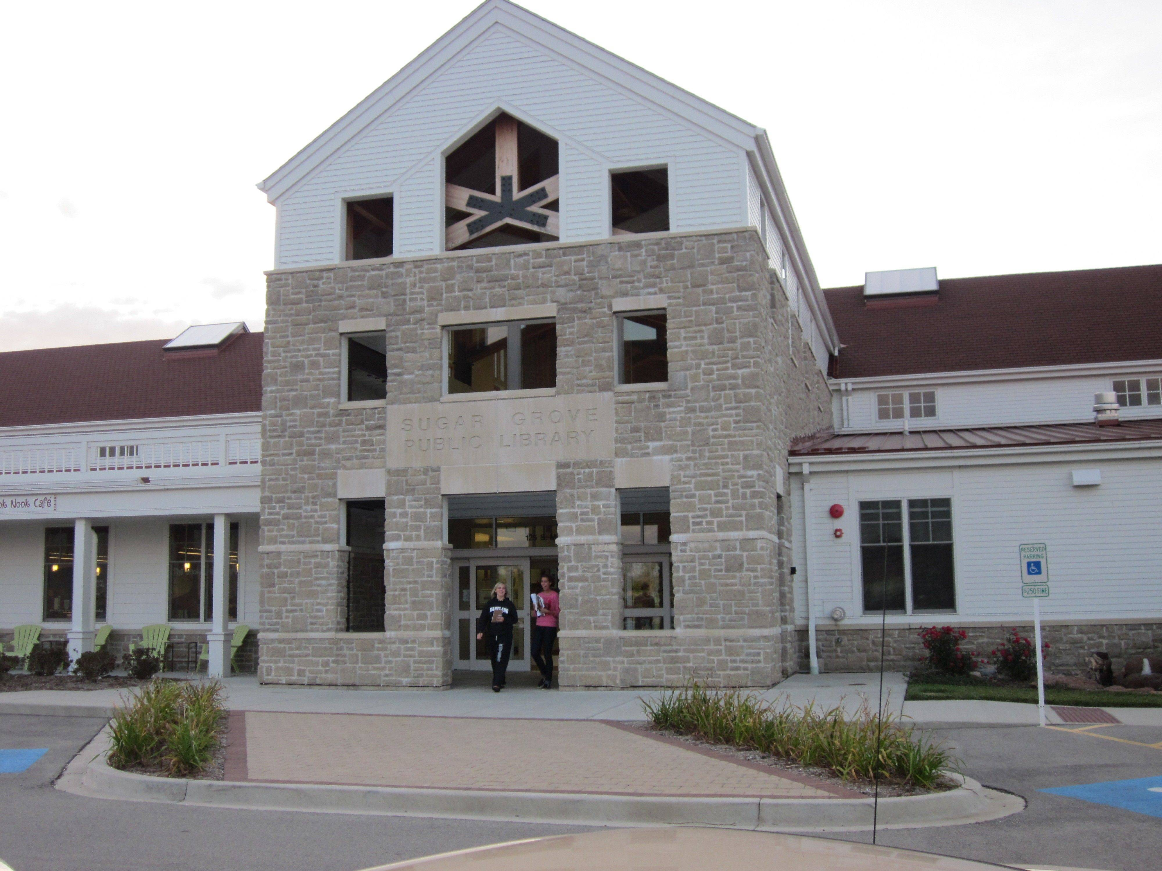 Trustees adopted the 2011-12 budget Thursday for the Sugar Grove library, though they don't know if it's realistic at all yet.