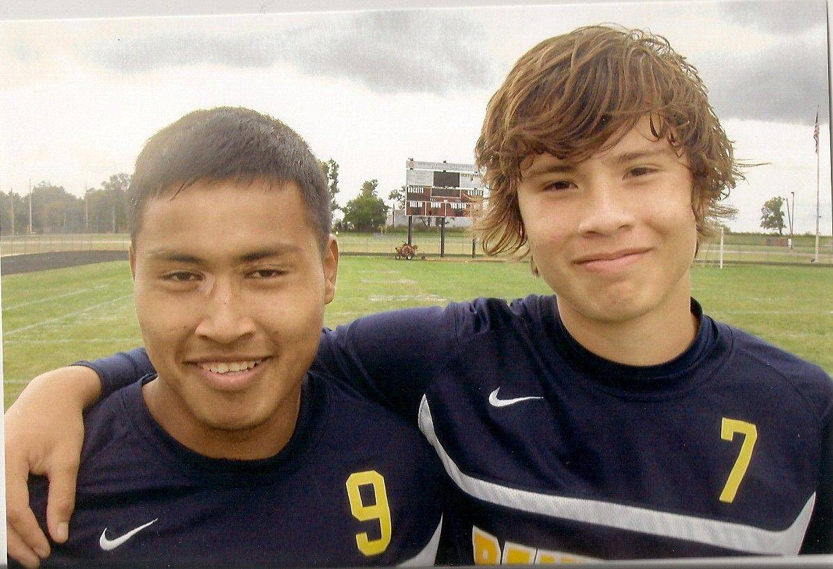Jordi Rubio, left, and Mauricio Salgado led Round Lake's soccer team to the championship of Richmond-Burton's 10th annual Dennis Louis invitational Saturday.