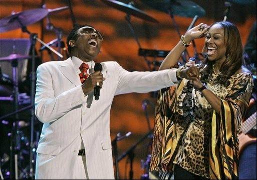 Jessy Dixonperforms with Yolanda Adams in Washington in 2007. Dixon, whose extensive travels helped popularize gospel music outside the United States, died Monday in Chicago.