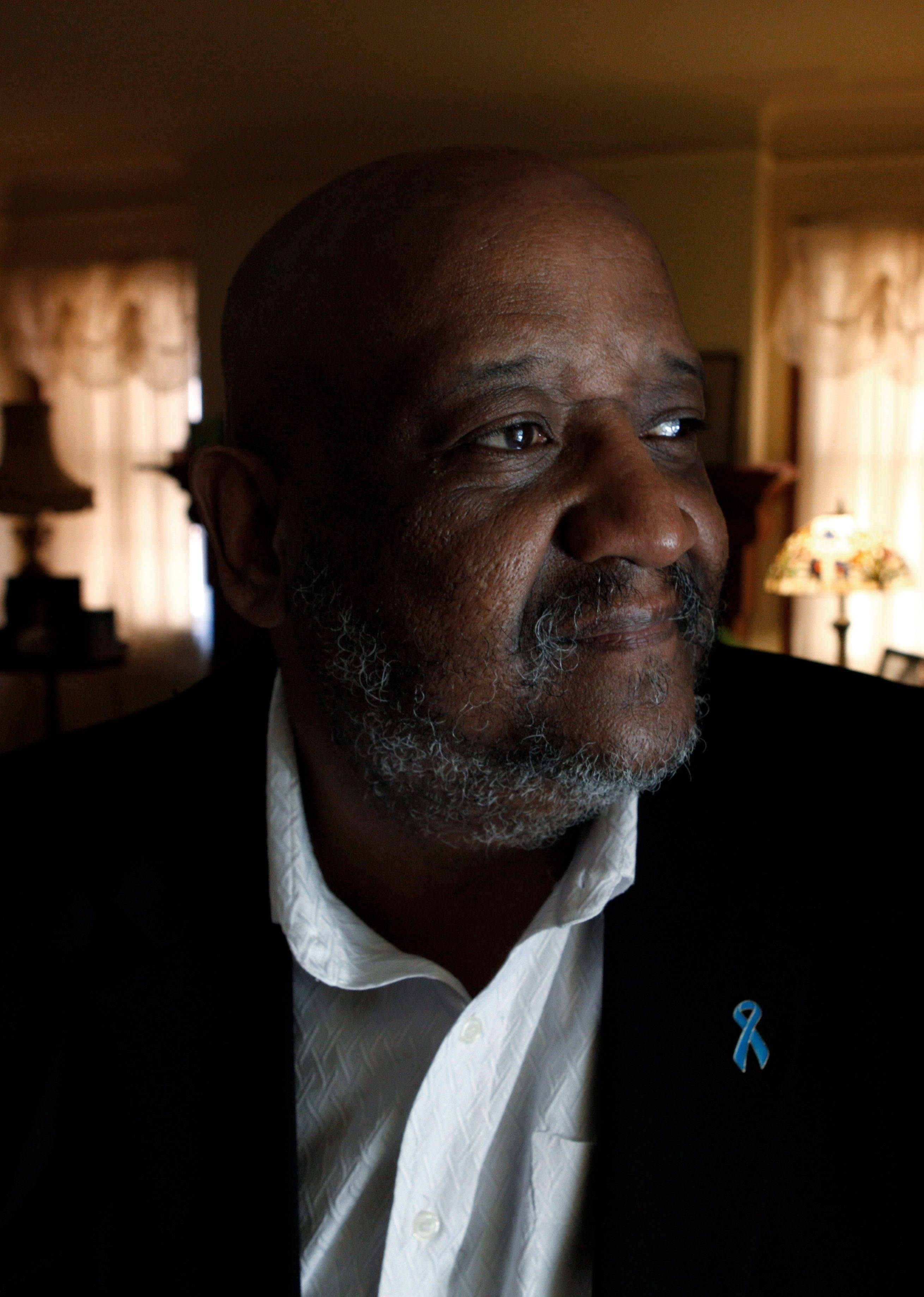 Jerry Hardy, 57, of Detroit had nerve-sparing surgery for prostate cancer in 2000 and lost sexual function. He eventually opted for a penile implant.