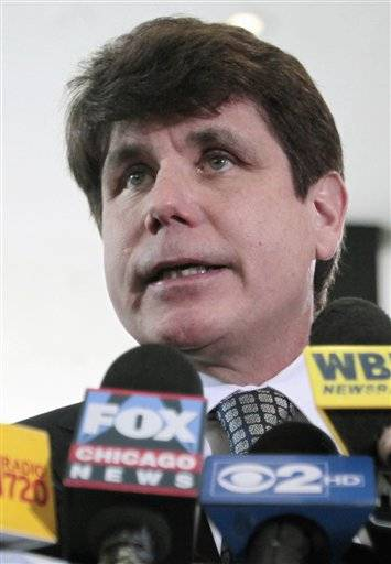 A federal judge on Monday delayed the sentencing for former Gov. Rod Blagojevich