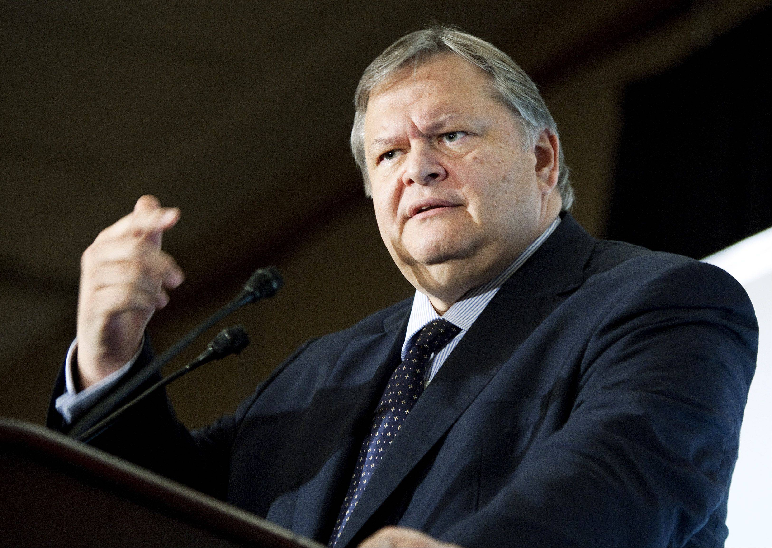 "Evangelos Venizelos, Greece's finance minister, speaking in Washington on Sunday, said his country will do ""whatever it takes"" to meet its budget goals and cautioned against making it a ""scapegoat"" for global economic woes."