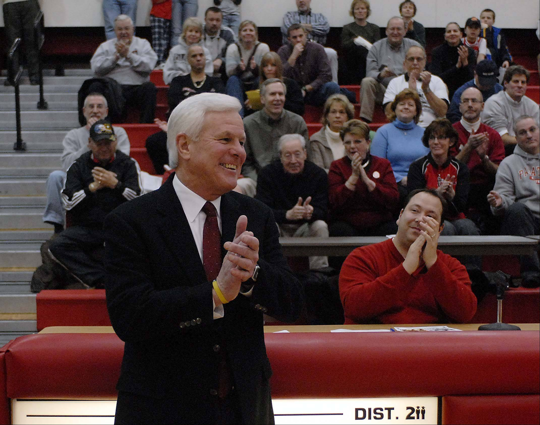 Basketball coach Ed Molitor leads an impressive group entering the Palatine High School athletics Hall of Fame this weekend.