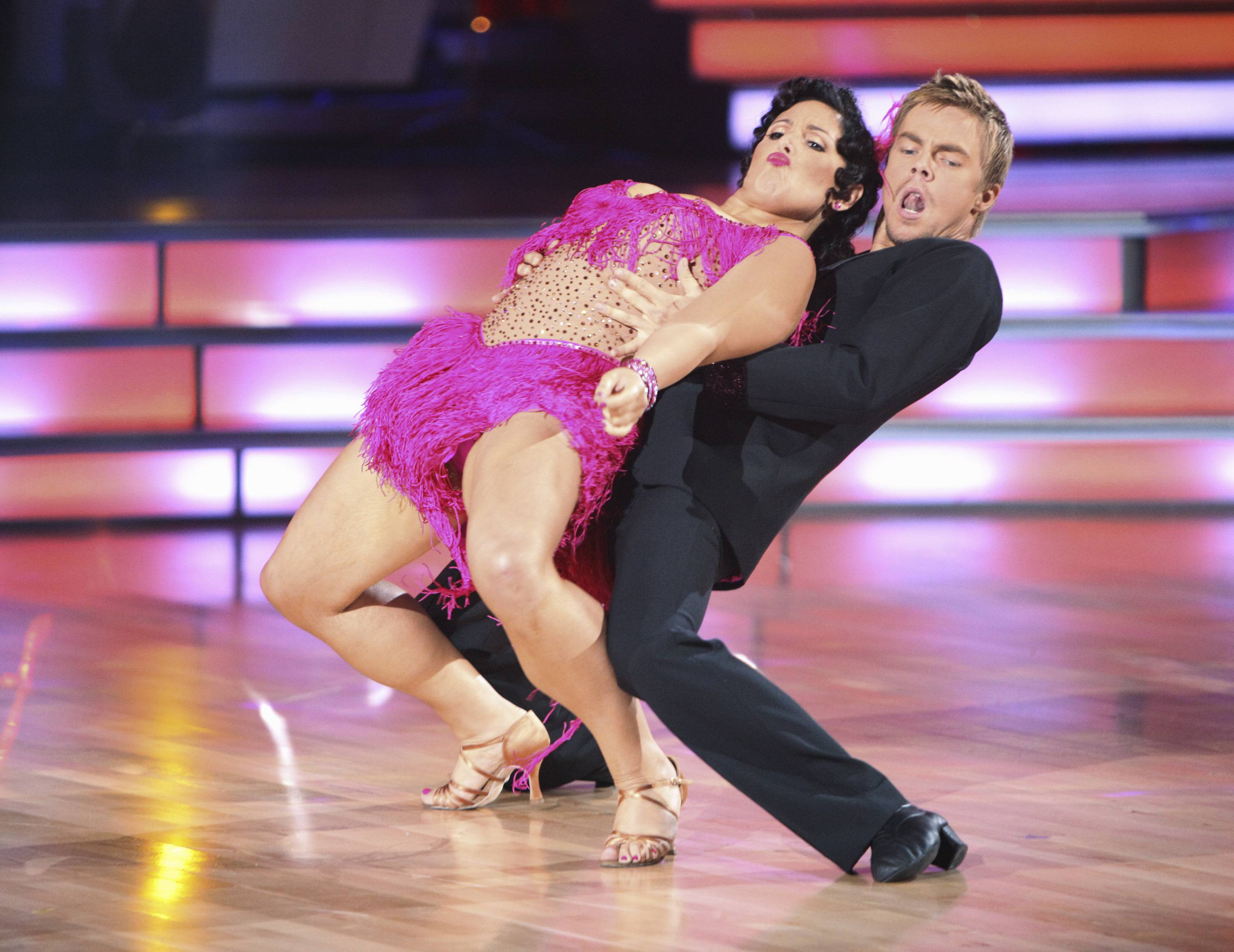 Ricki Lake and her partner, Derek Hough, received the top score from the judges on ABC's