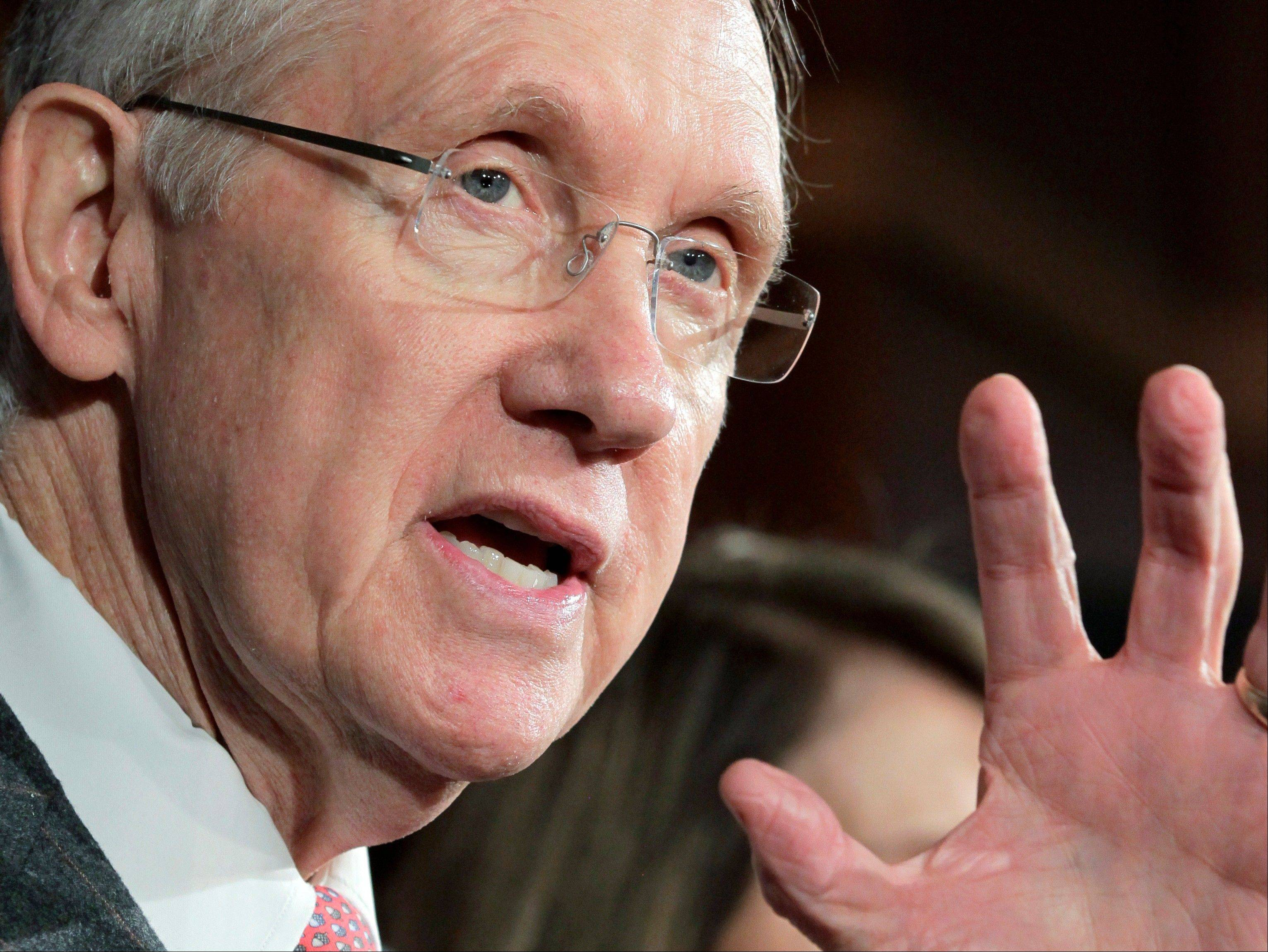 Senate Majority Leader Harry Reid will be leading another battle over spending soon, as Congress once again faces a looming deadline that risks a federal government shutdown.