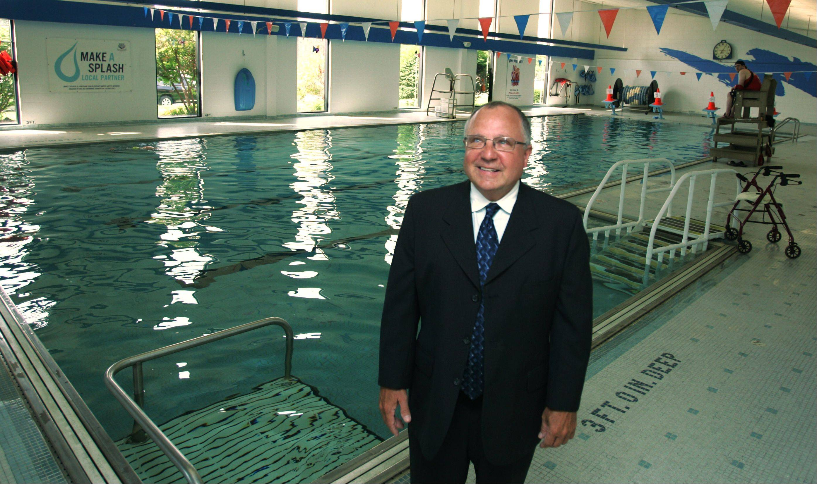 Steve Dahlin, 62, of Elmhurst recently retired as chief operating officer of the YMCA of Metropolitan Chicago.