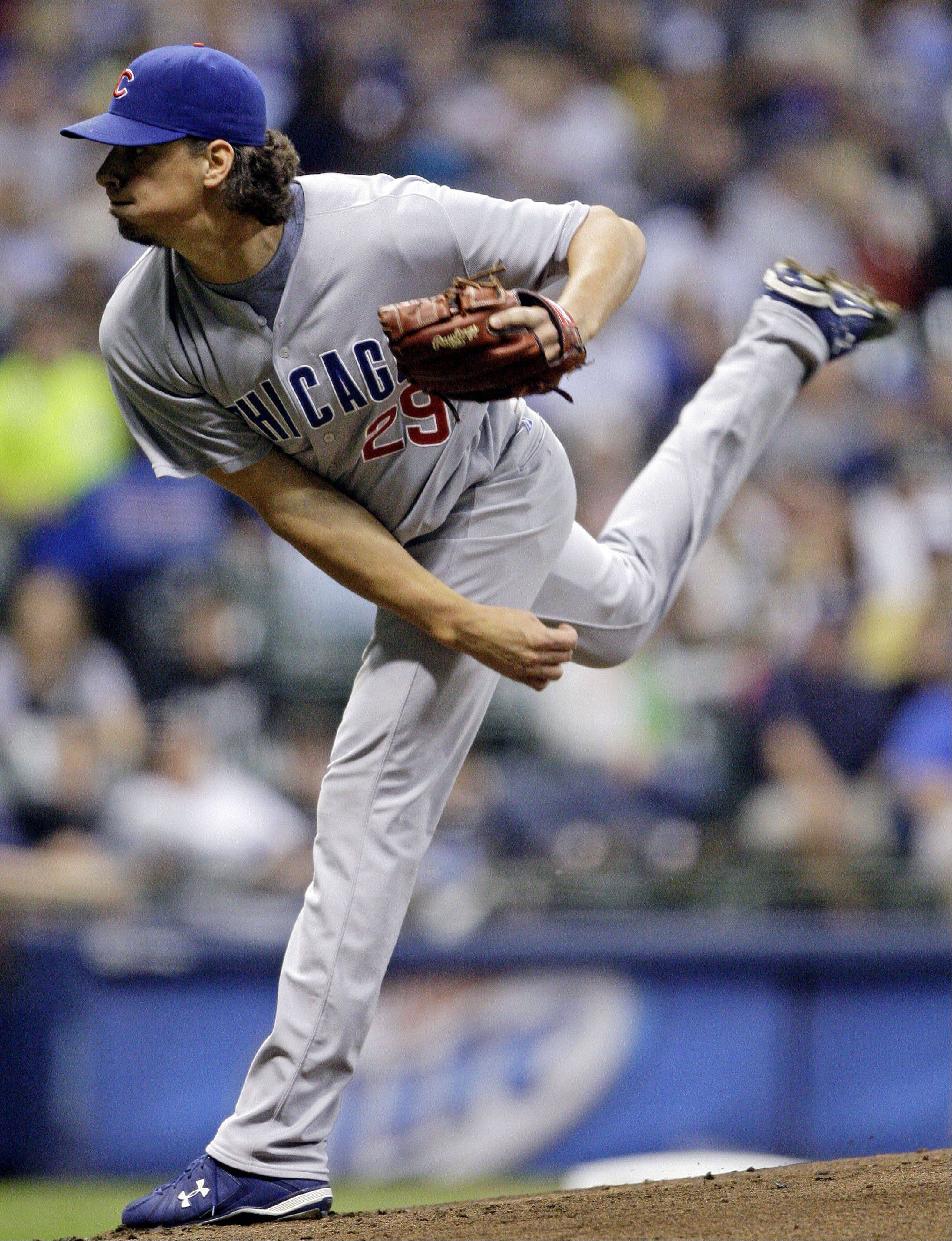 Samardzija hopes new direction leads to Cubs rotation