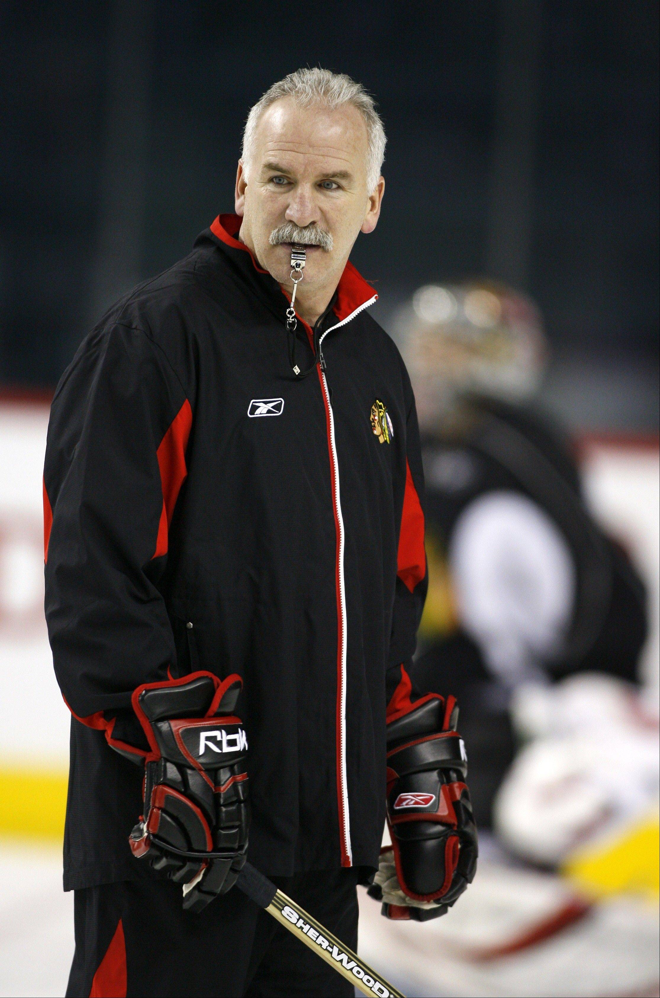Blackhawks coach Joel Quenneville has some roster decisions to make in the next few days.