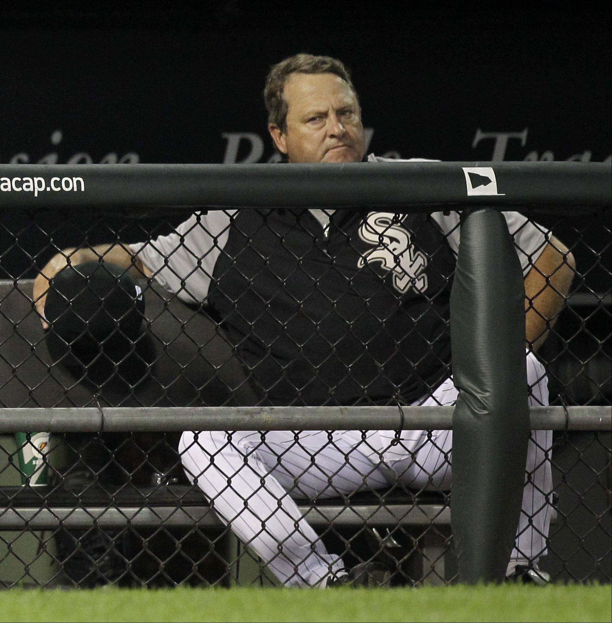 White Sox pitching coach Don Cooper has signed a multiyear deal to stay with the club. First base coach Harold Baines also got a multi-year deal, and Cooper will serve as interim manager for the final two games of the season.