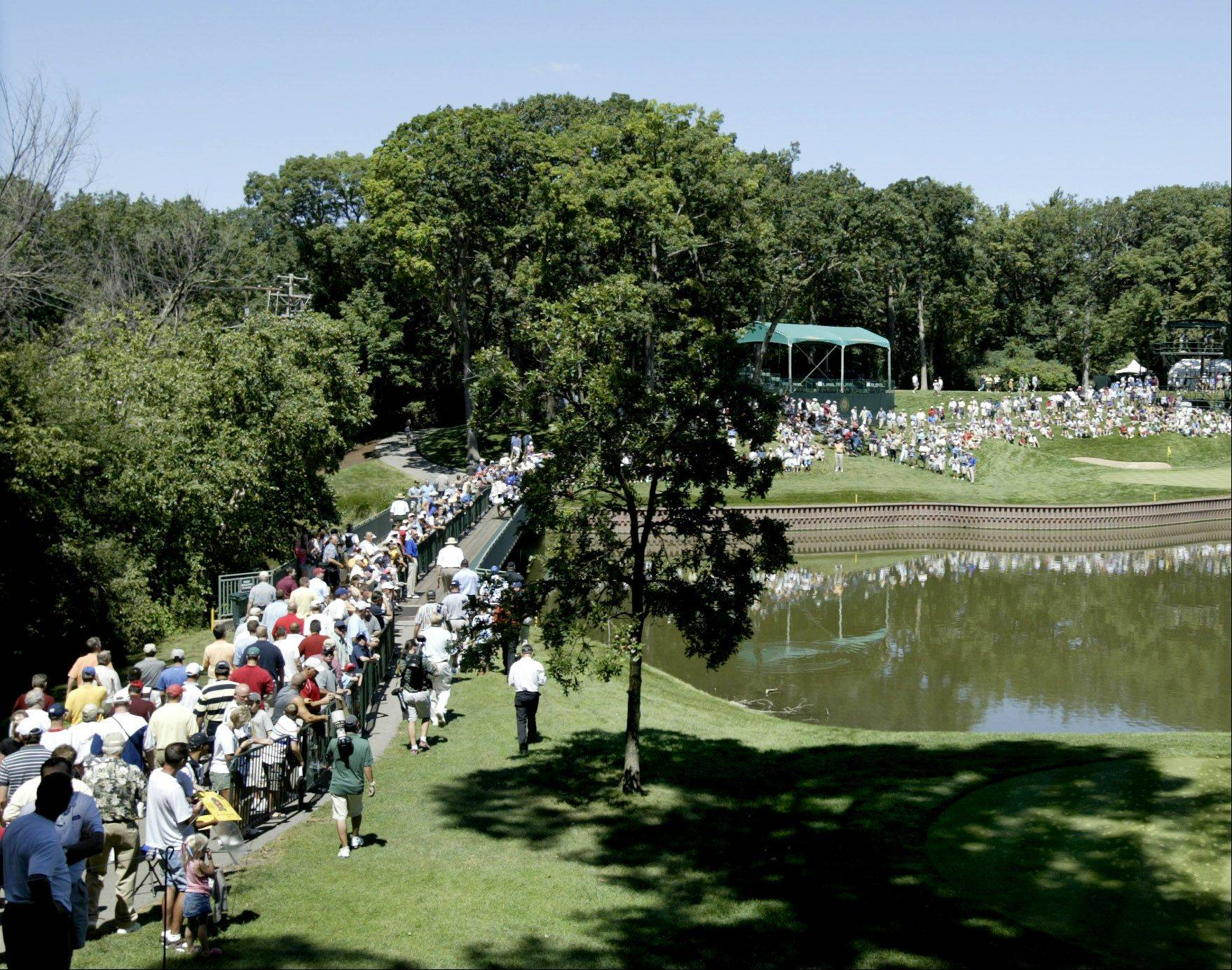 Medinah Country Club, which played host to the PGA Championship in 2006, will hold the 2012 Ryder Cup next fall.