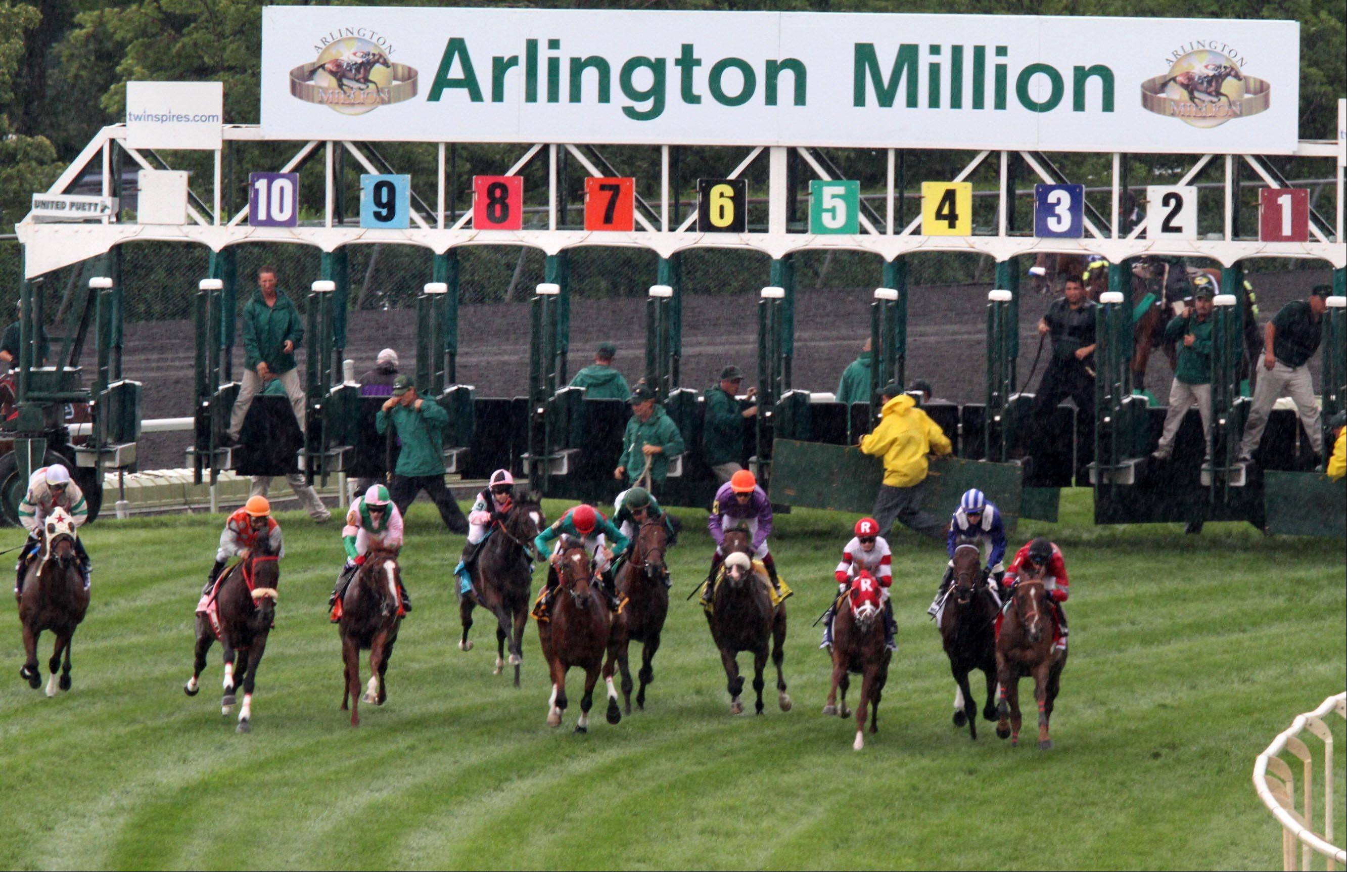 Arlington Park officials didn't get the racing schedule they sought from the Illinois Racing Board, and now they're uncertain if they can invest in lights for limited night racing.