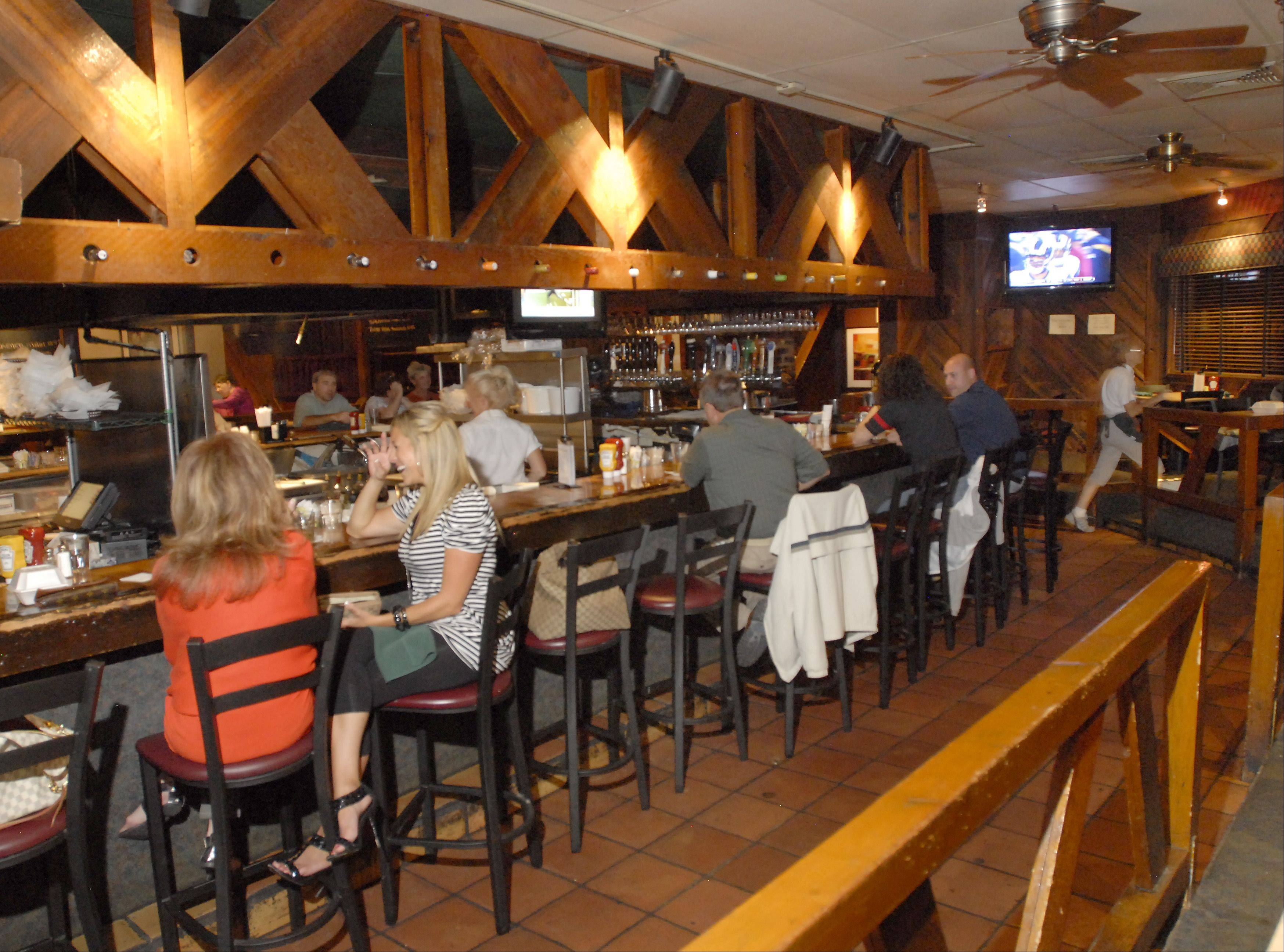 The Assembly American Bar & Caf� in Hoffman Estates is known for its burgers and locally brewed beer.