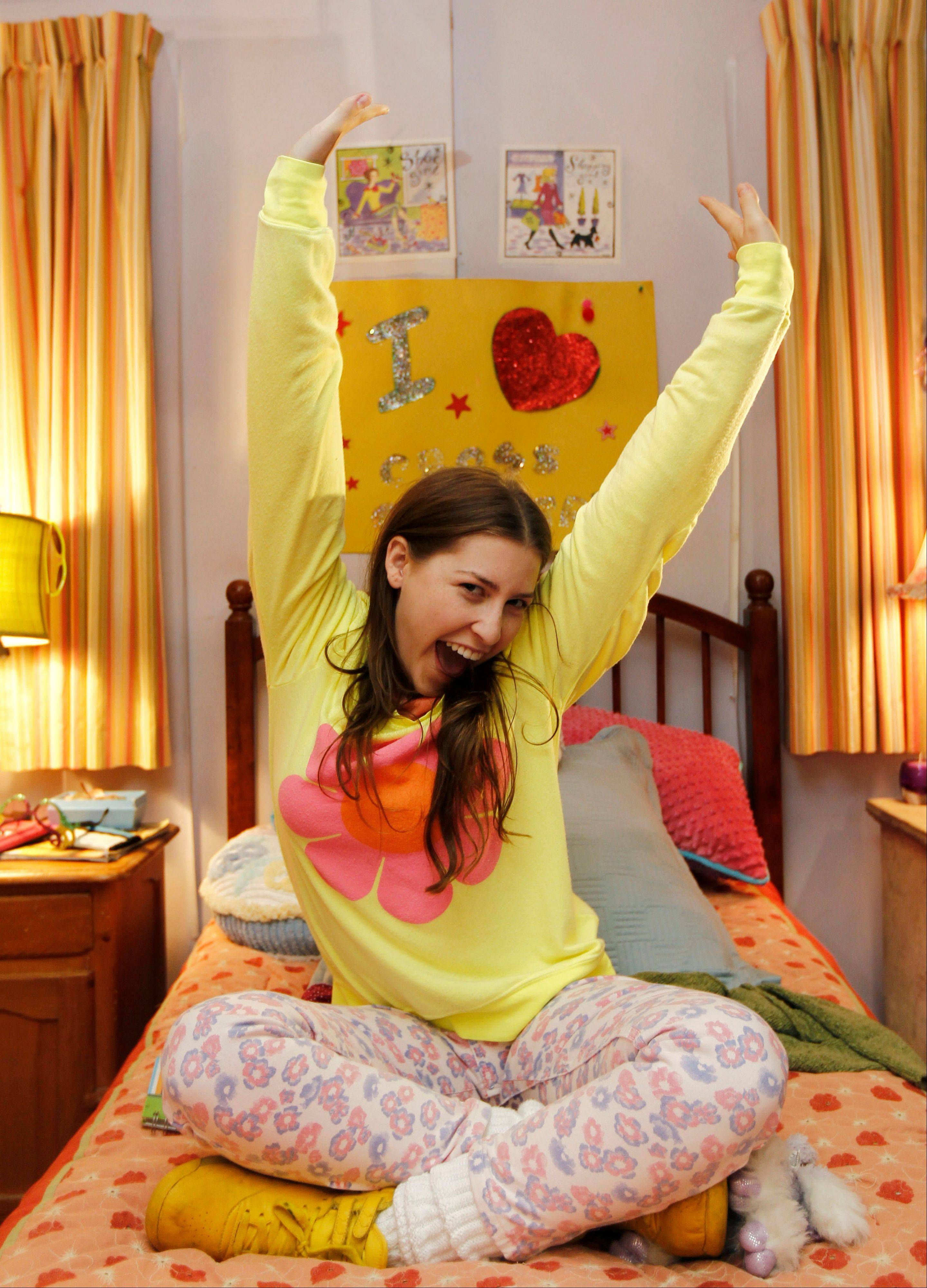 "Actress Eden Sher has found success playing bumbling, stumbling middle child Sue Heck on the ABC show ""The Middle."" Last week's season premiere of ""The Middle"" marked the show's second largest overall audience to date."