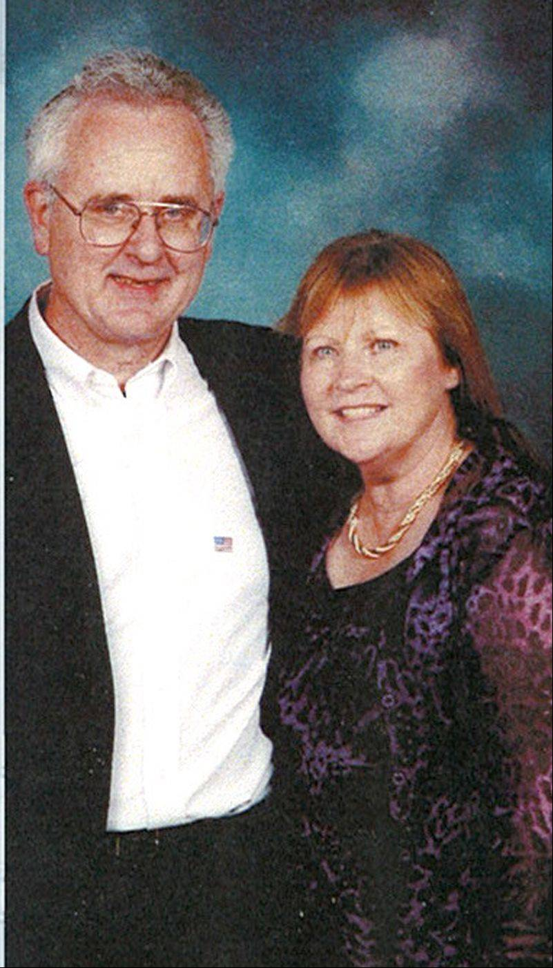 Autopsy results were inconclusive Wednesday for Bruce Madiar of Roselle, pictured with his wife, Sheila.