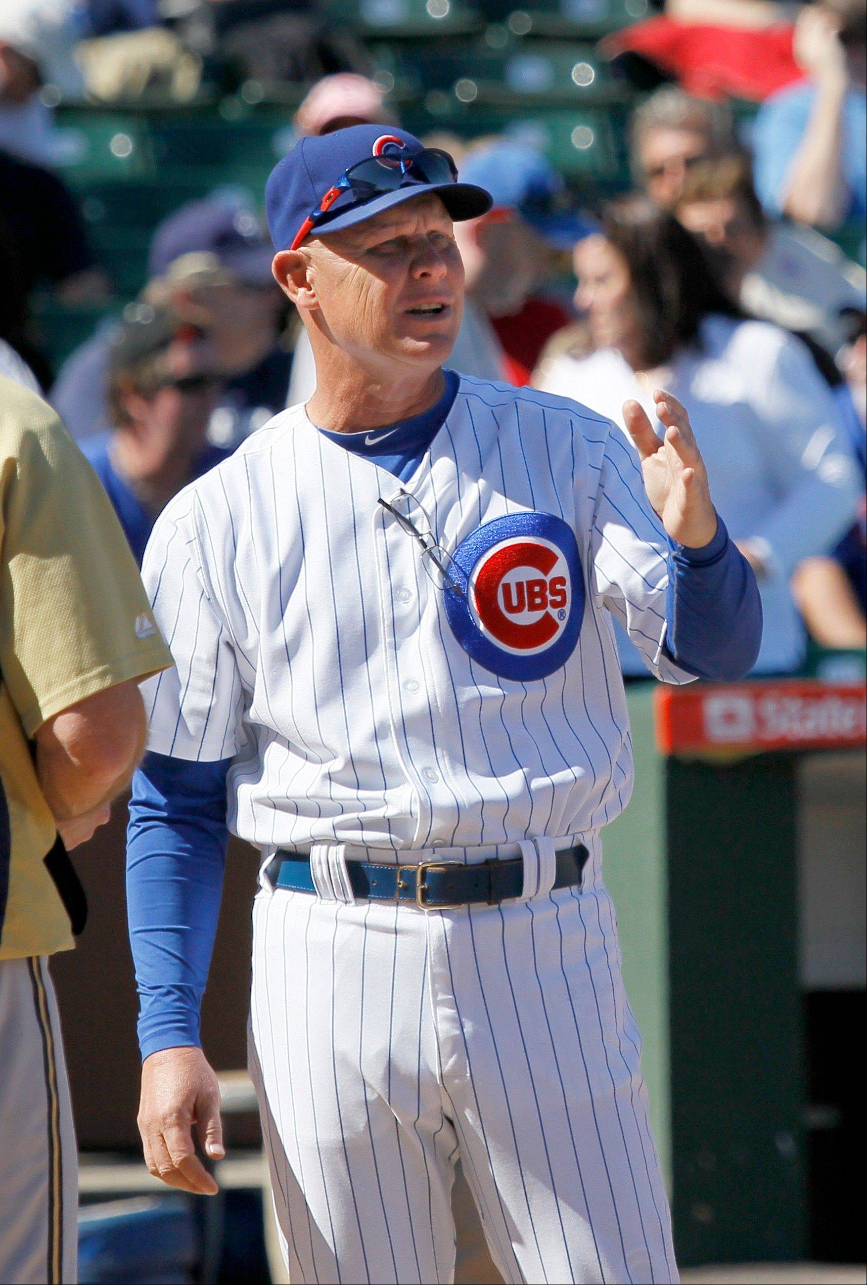 With the season concluding Wednesday night in San Diego, Cubs manager Mike Quade continues to go about his business until the team finds a new general manager.