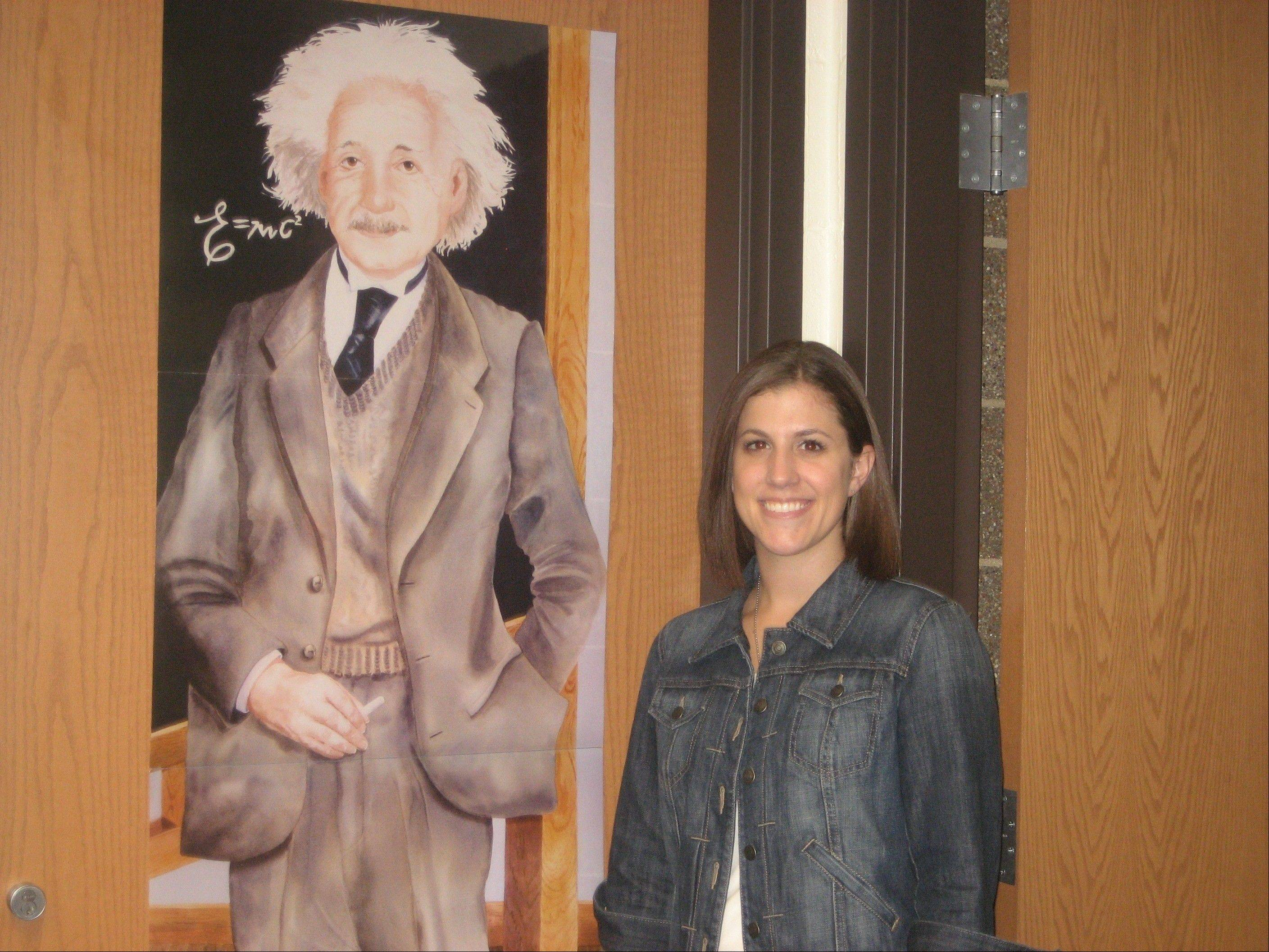 "Always trying to spark interests in the ""marvels"" of science, Palatine native and Frankfort science teacher Katie Duff is vying to live at Chicago's Museum of Science and Industry for a month."