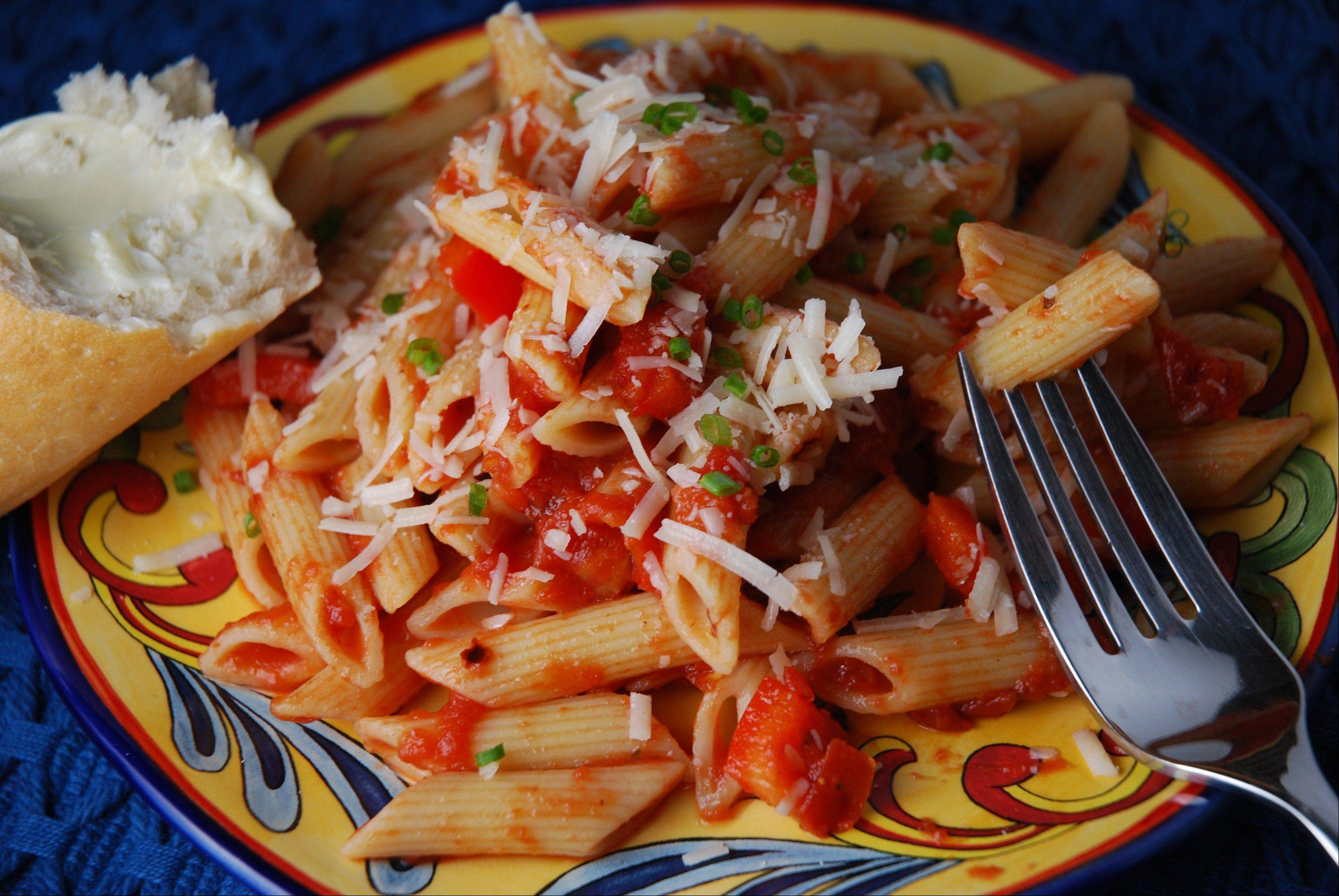 Classic Italian Pasta sauce comes together in a mere 20 minutes.