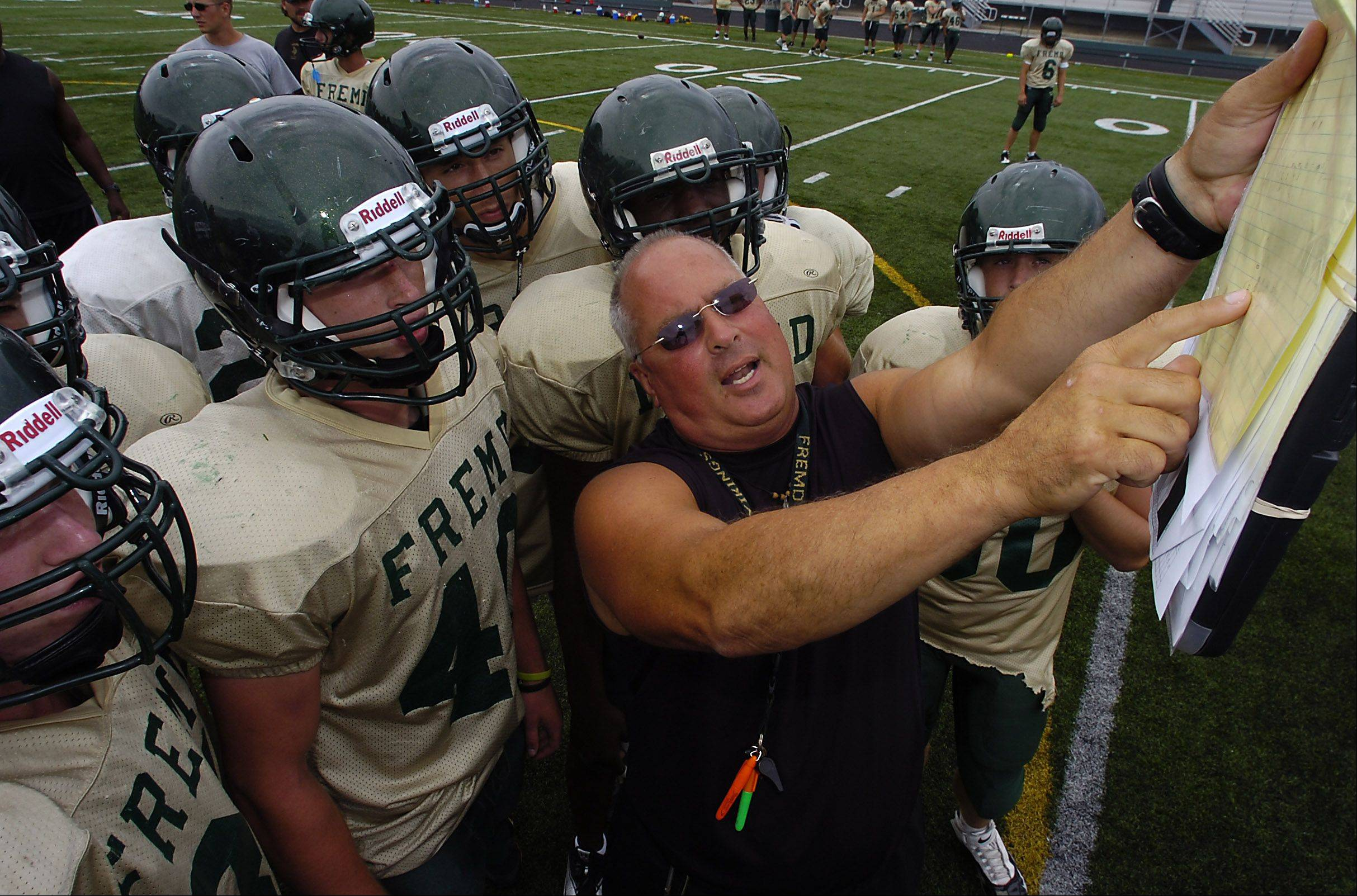 Fremd took a big step forward by beating Conant last week, but coach Mike Donatucci�s team faces another tough test this week against Schaumburg.