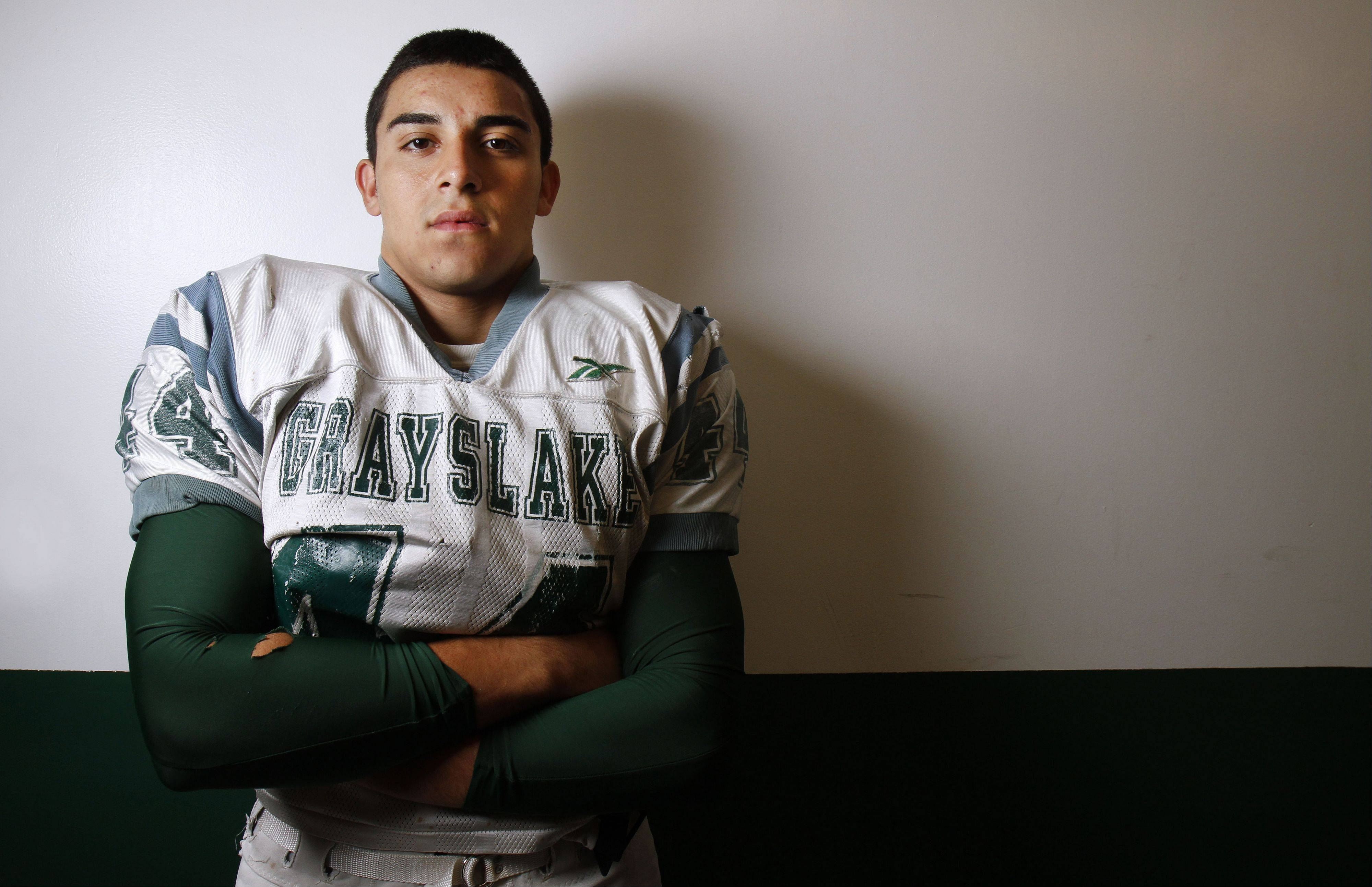 Grayslake Central running back Joey Valdivia is a three year started and a big reason the Rams are having their bast season in years.