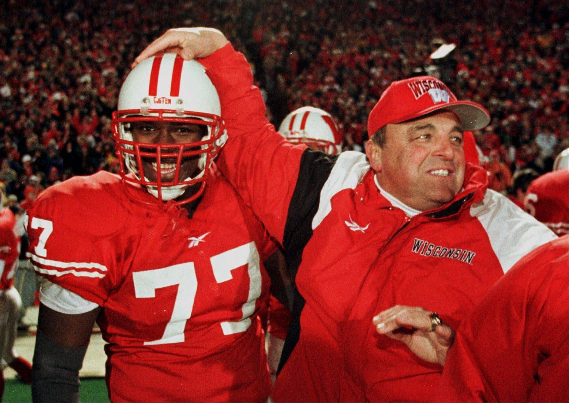 Thirty years after he finished his playing career at Nebraska, Barry Alvarez went to Wisconsin and built the Badgers' program in the image of the Cornhuskers. No one's more excited than Alvarez, now Wisconsin's athletic director, about Nebraska playing its inaugural Big Ten game on the Badgers' field on Saturday.