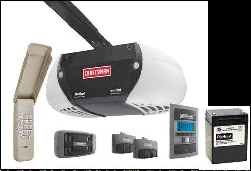 Sears' Craftsman this week launched perhaps the first garage door opener that is linked to your iPhone, iPad, or Android devices. If you're thousands of miles from home, and think you left open the garage door, you can use your device to close it.