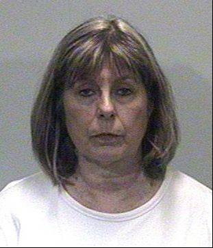 Sharon Hyde was charged Wednesday with running a ghost payroll scam in the village of Island Lake rmore than 10 years. Sharon is married to former Island Lake mayor Thomas Hyde.