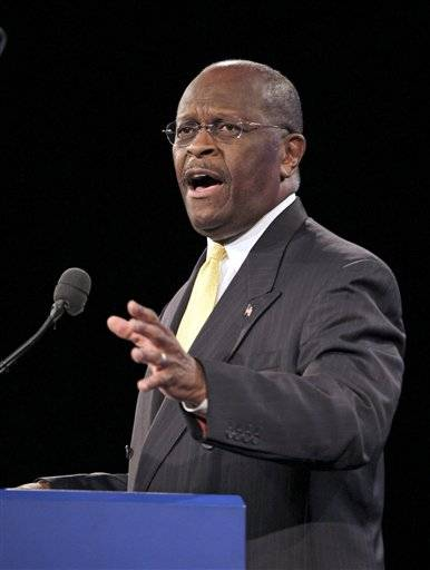 GOP 2012 presidential hopeful Herman Cain is one of the featured speakers at TeaCon in Schaumburg.