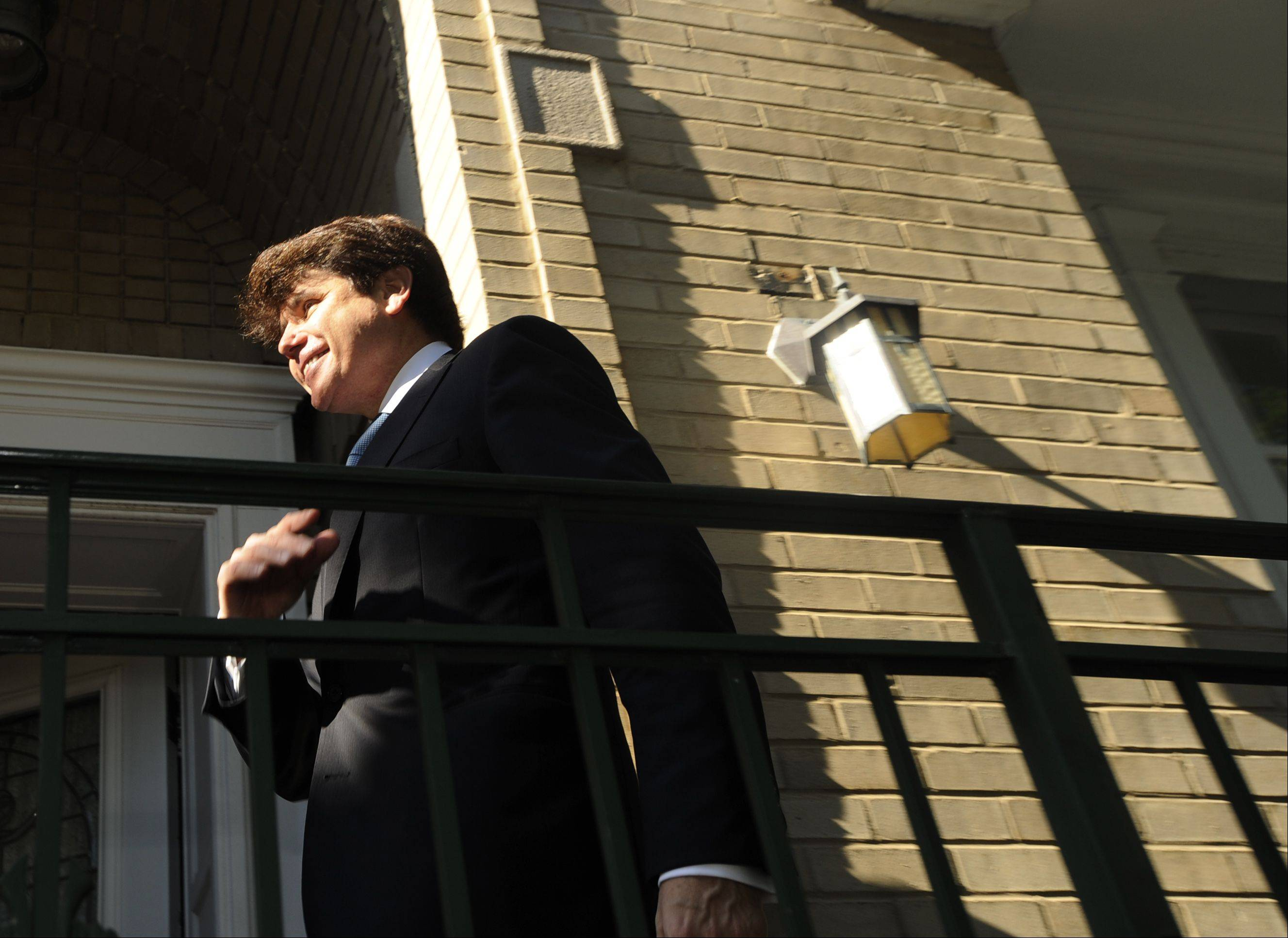 Associated Press file photo Rod Blagojevich and his wife, Patti, are asking $1.07 million for their house on the city's North Side. The house was where FBI wiretaps captured the former governor talking about profiting by naming someone to President Barack Obama's former Senate seat.