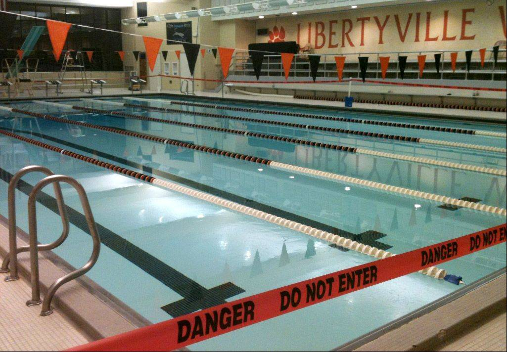 Libertyville High School's swimming pool has been closed to the public because federally mandated drain repairs have not been made. The pool at sister school Vernon Hills High is closed as well, for the same reason.