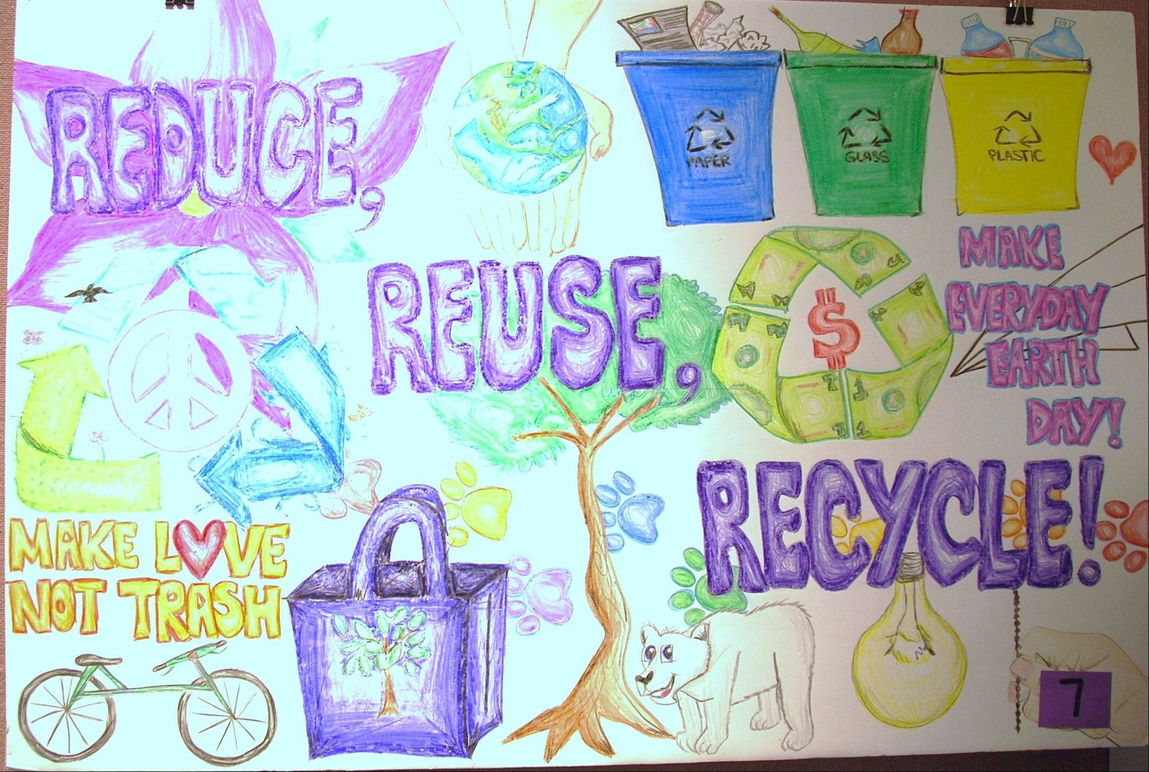 Reduce, Reuse, Recycle poster contest winners chosen