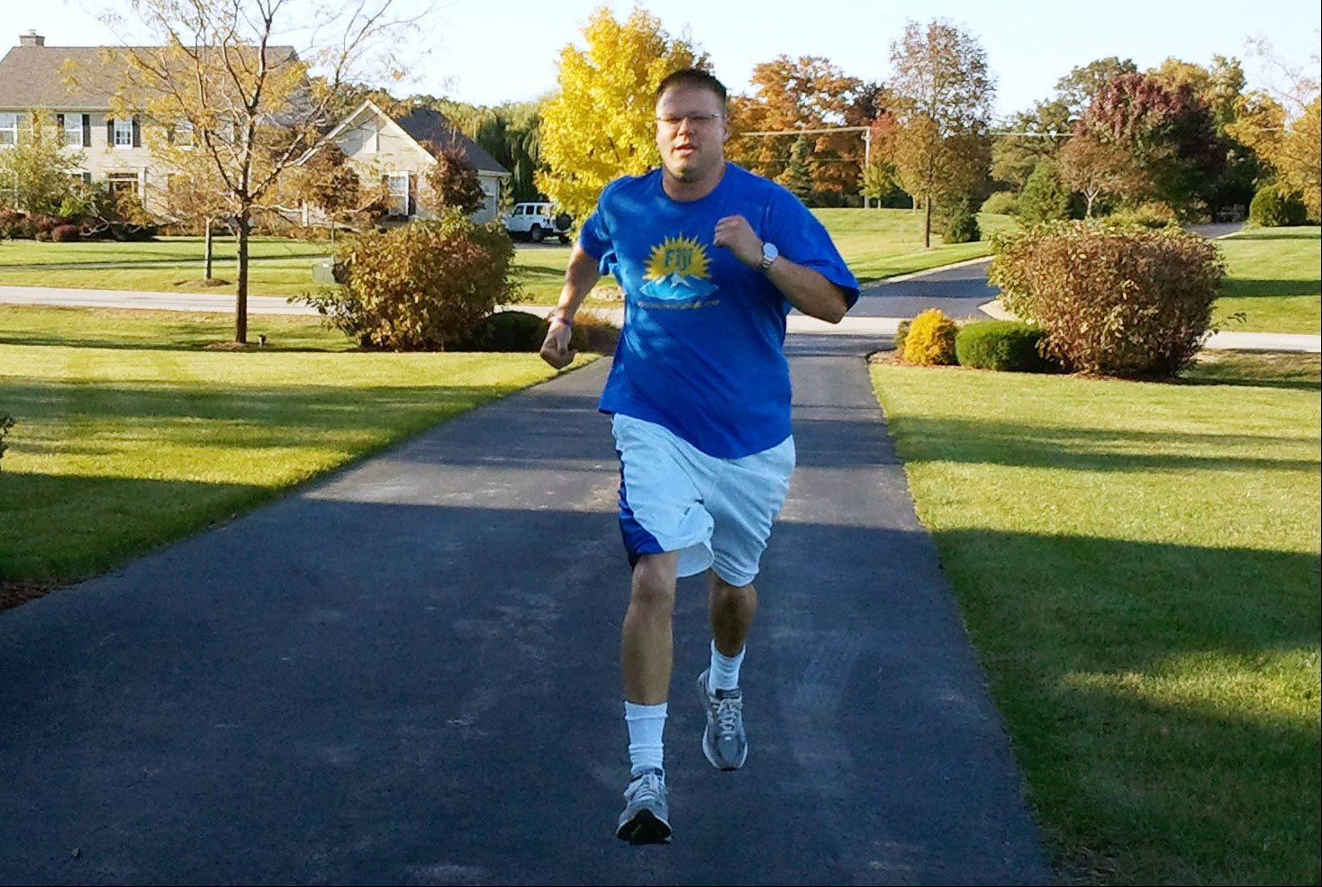 Lake Barrington man to run Marathon for Gabby