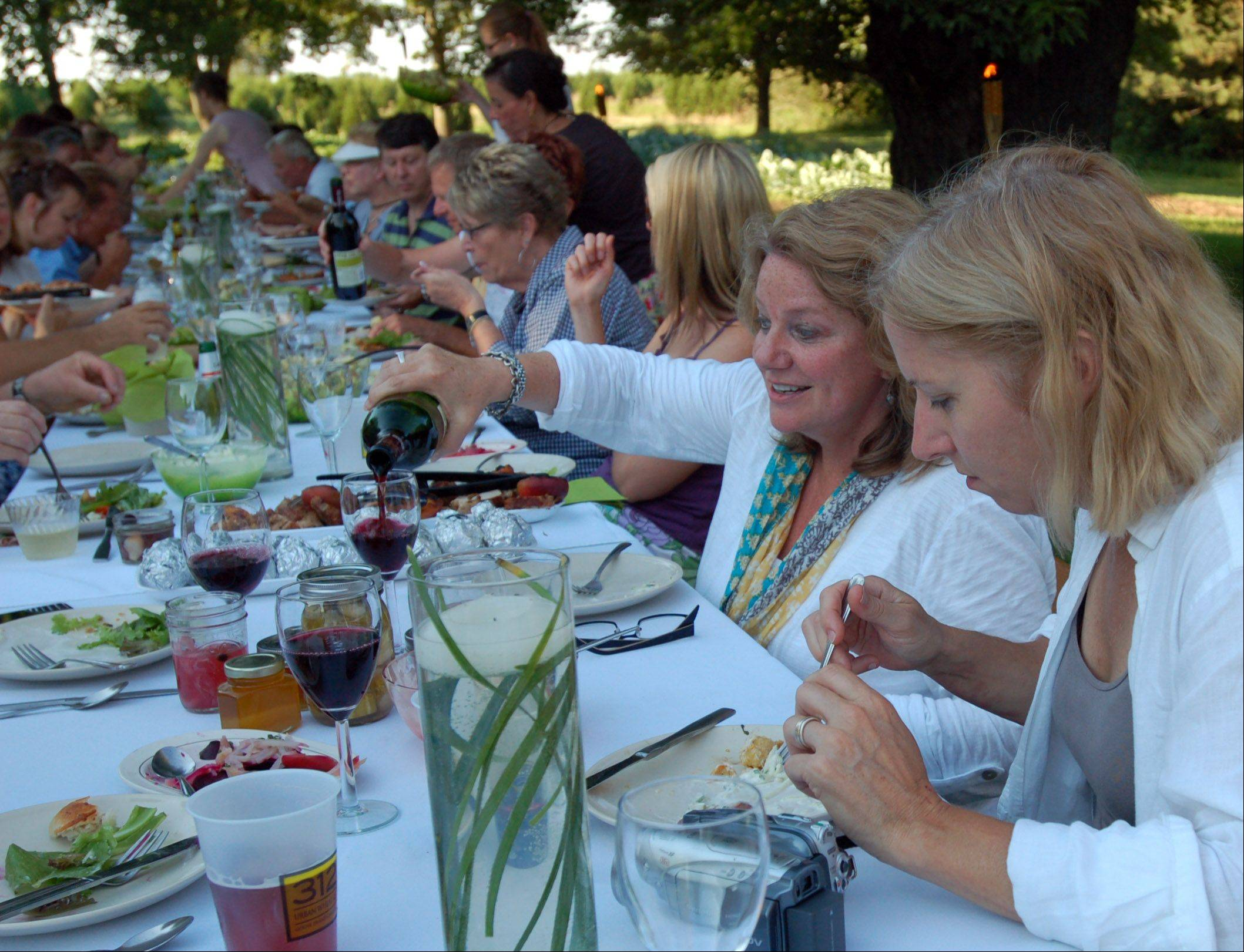 Images: Milly's Roots Farm Dinner in Huntley