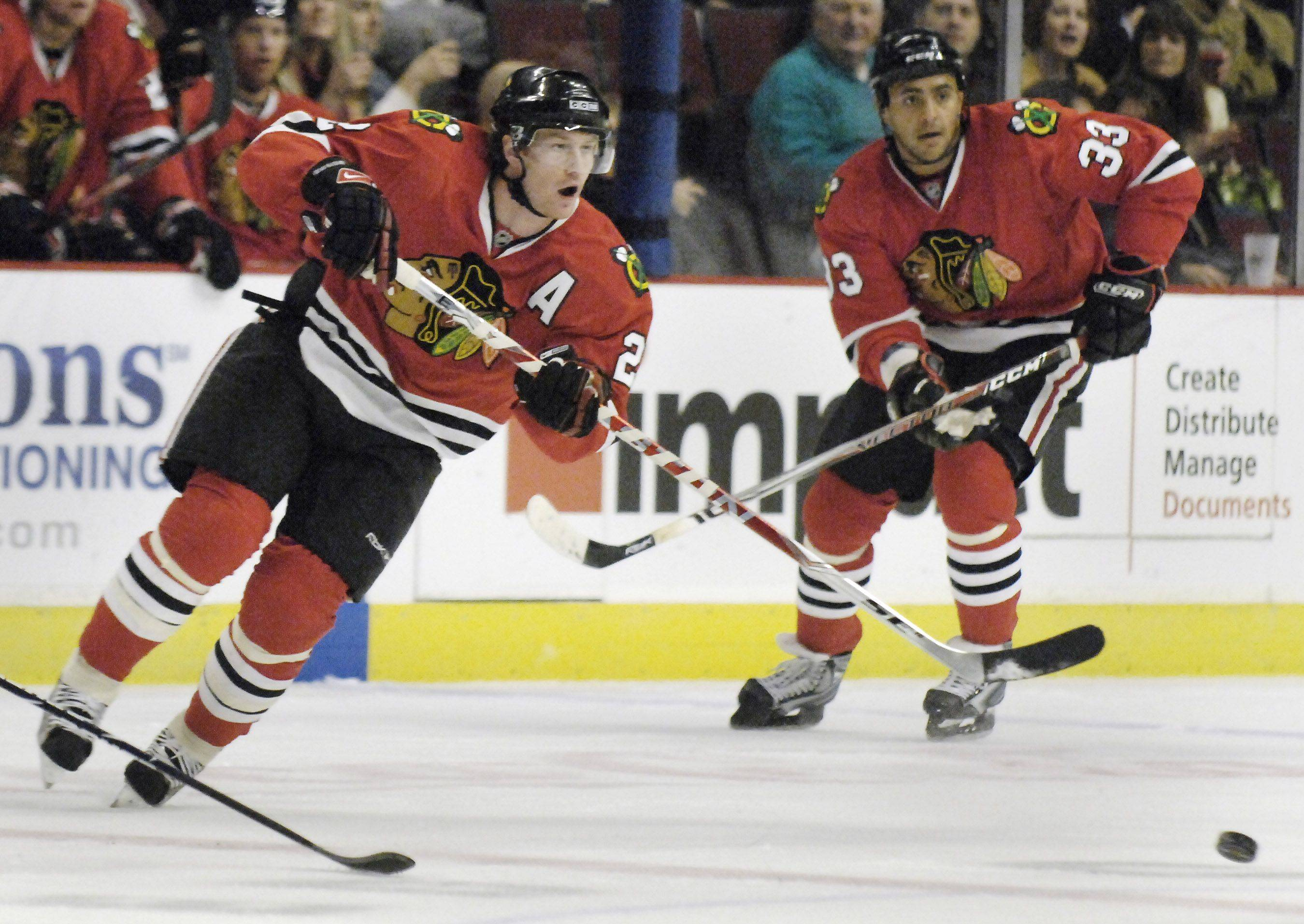 Duncan Keith, Brent Seabrook form Hawks' foundation