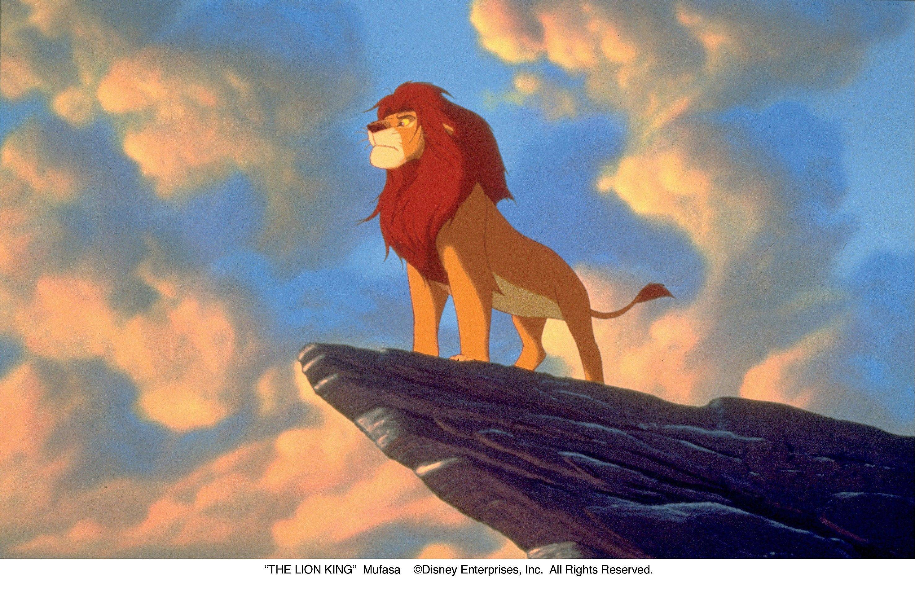 "Disney's beloved ""The Lion King"" is out on Blu-ray for the first time."