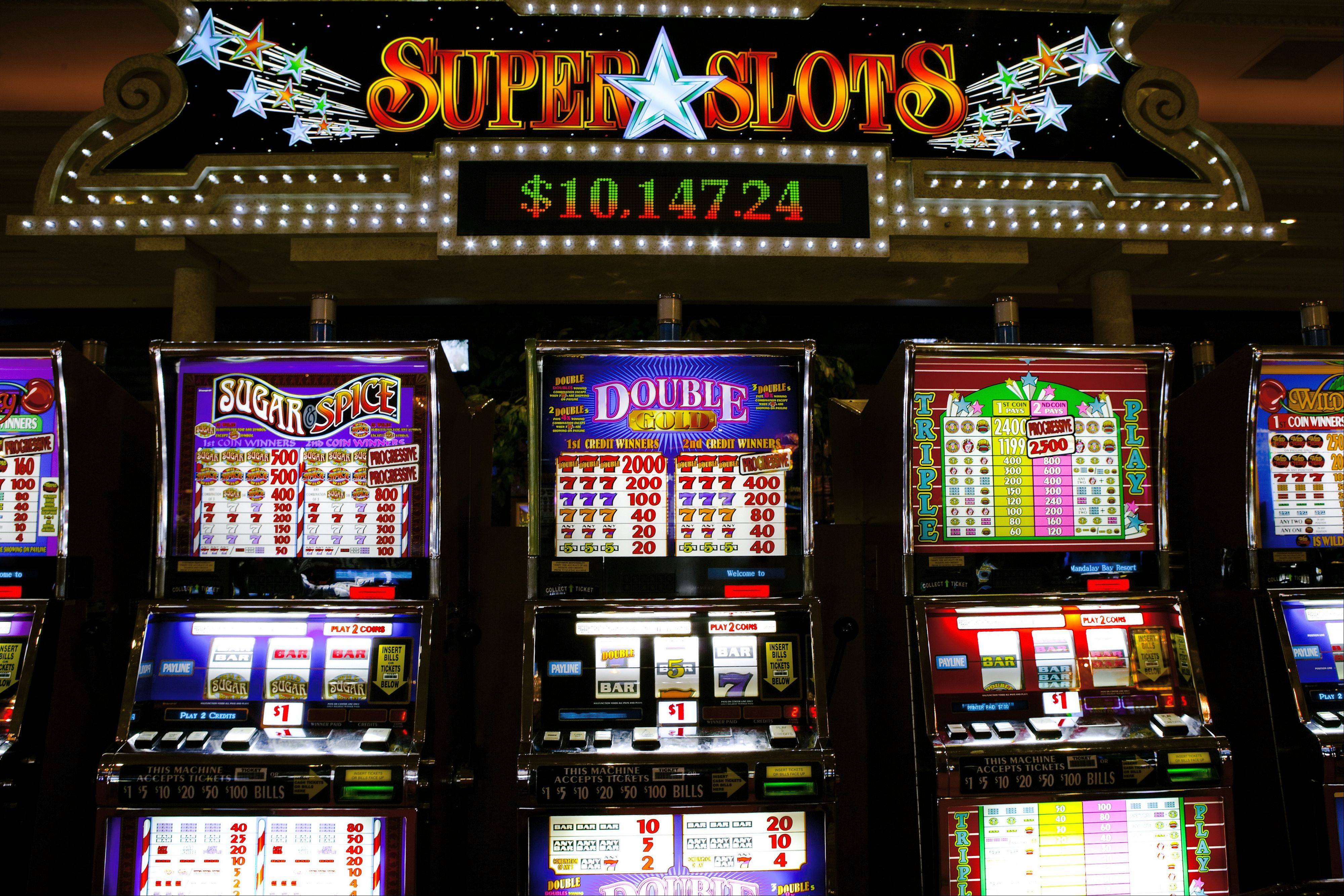 Slot machines at racetracks in illinois casino swf games